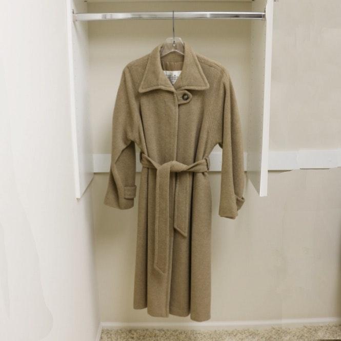 Women's Vintage Sincerely Gidding Jenny Cashmere Coat
