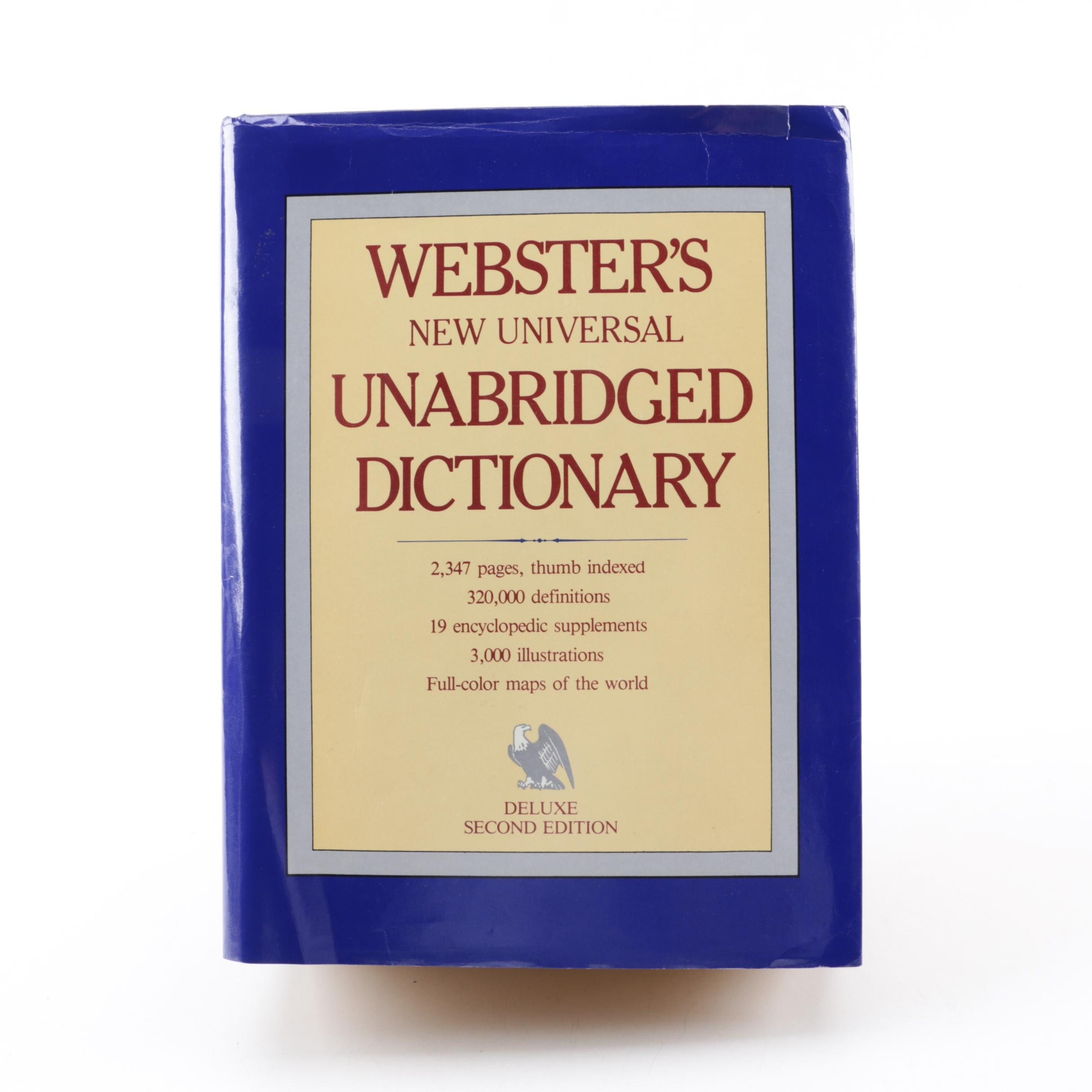 """1983 """"Webster's New Universal Unabridged Dictionary"""""""