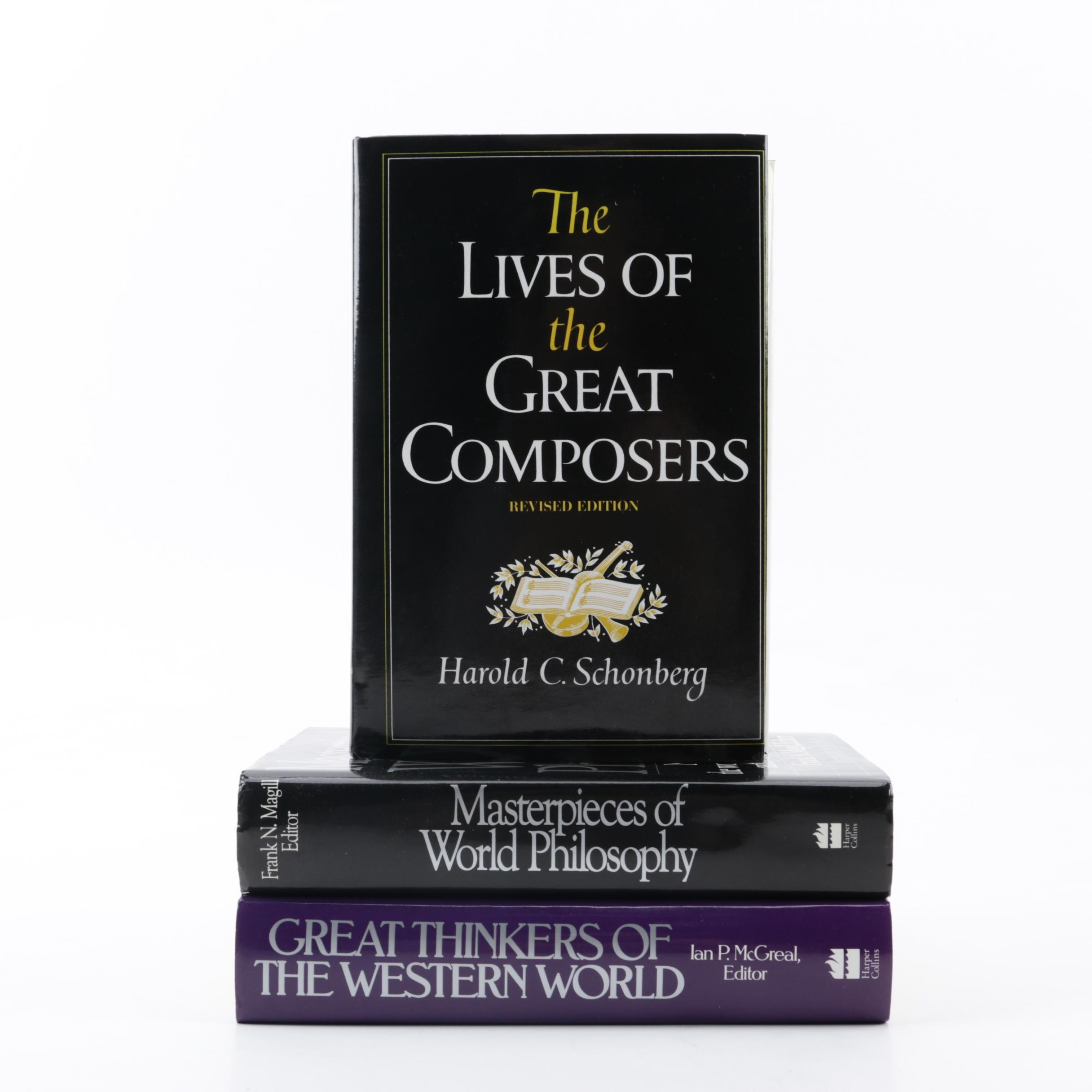 """Nonfiction and Philosophy Books featuring """"The Lives of the Great Composers"""""""