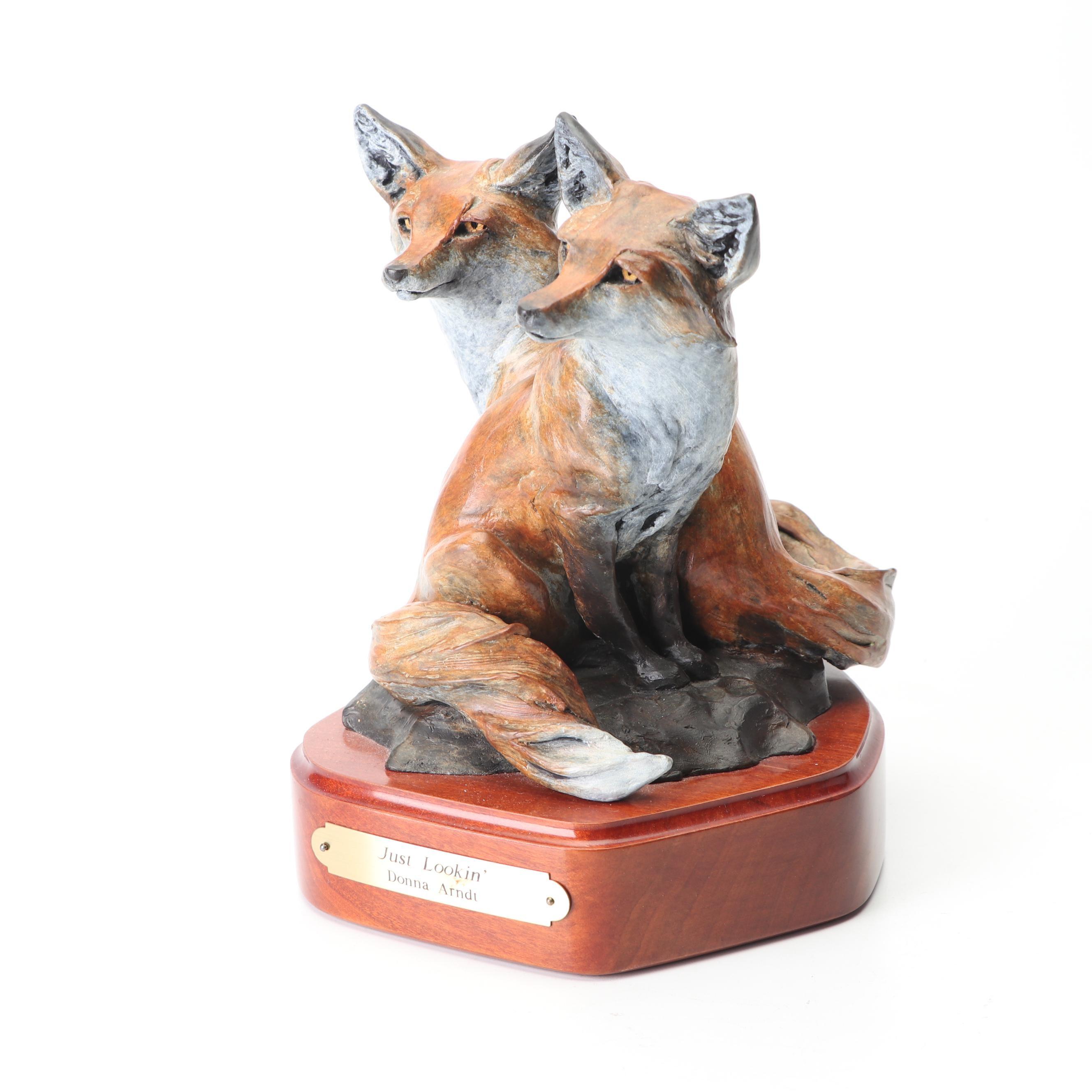 "Donna Arndt Sculpture ""Just Lookin'"""