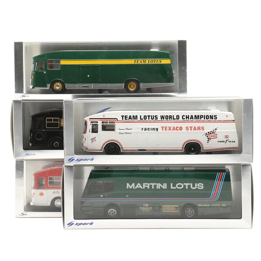 Spark Team Lotus Transporter Vehical