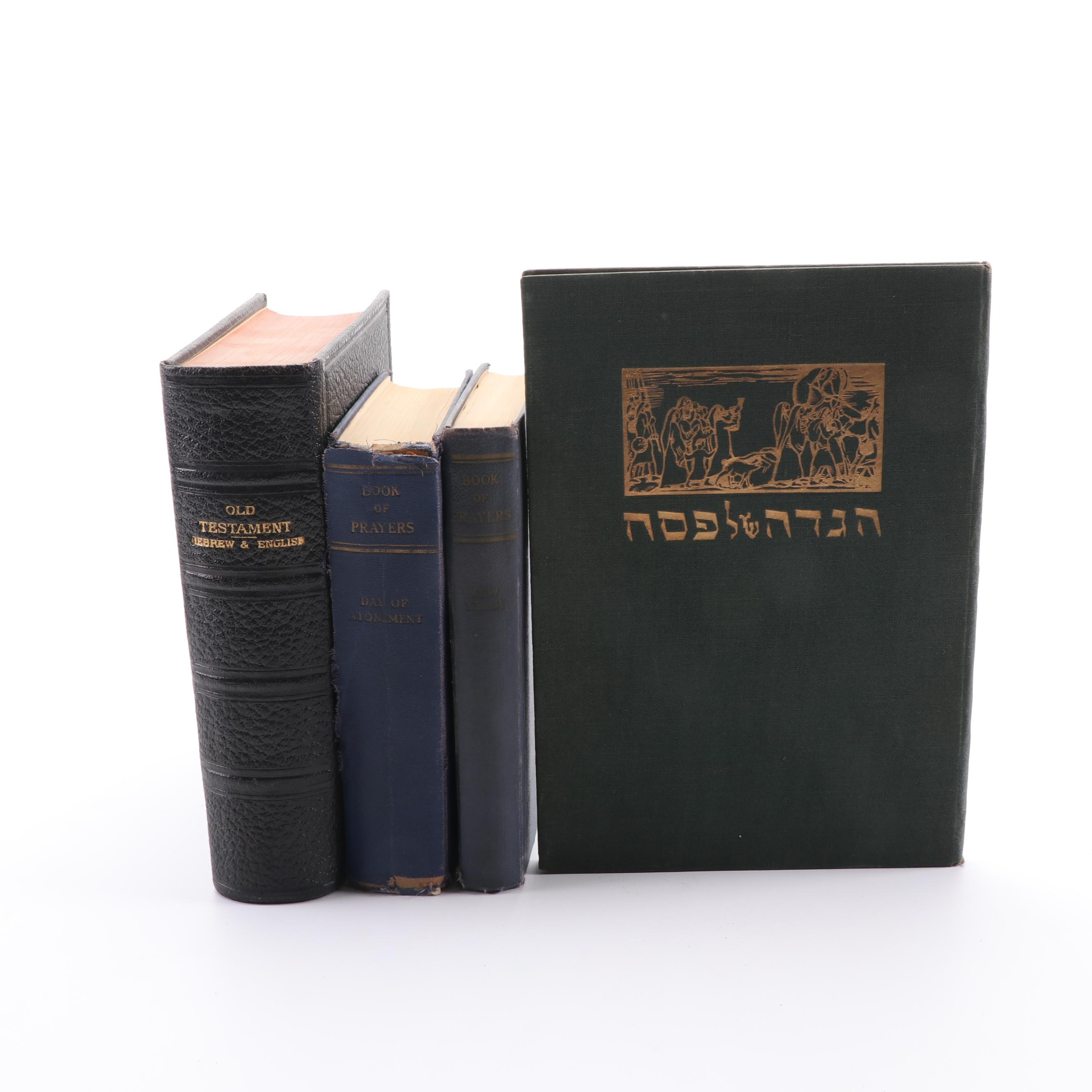 "Jewish Prayer Books including ""Prayers for the New Year"""
