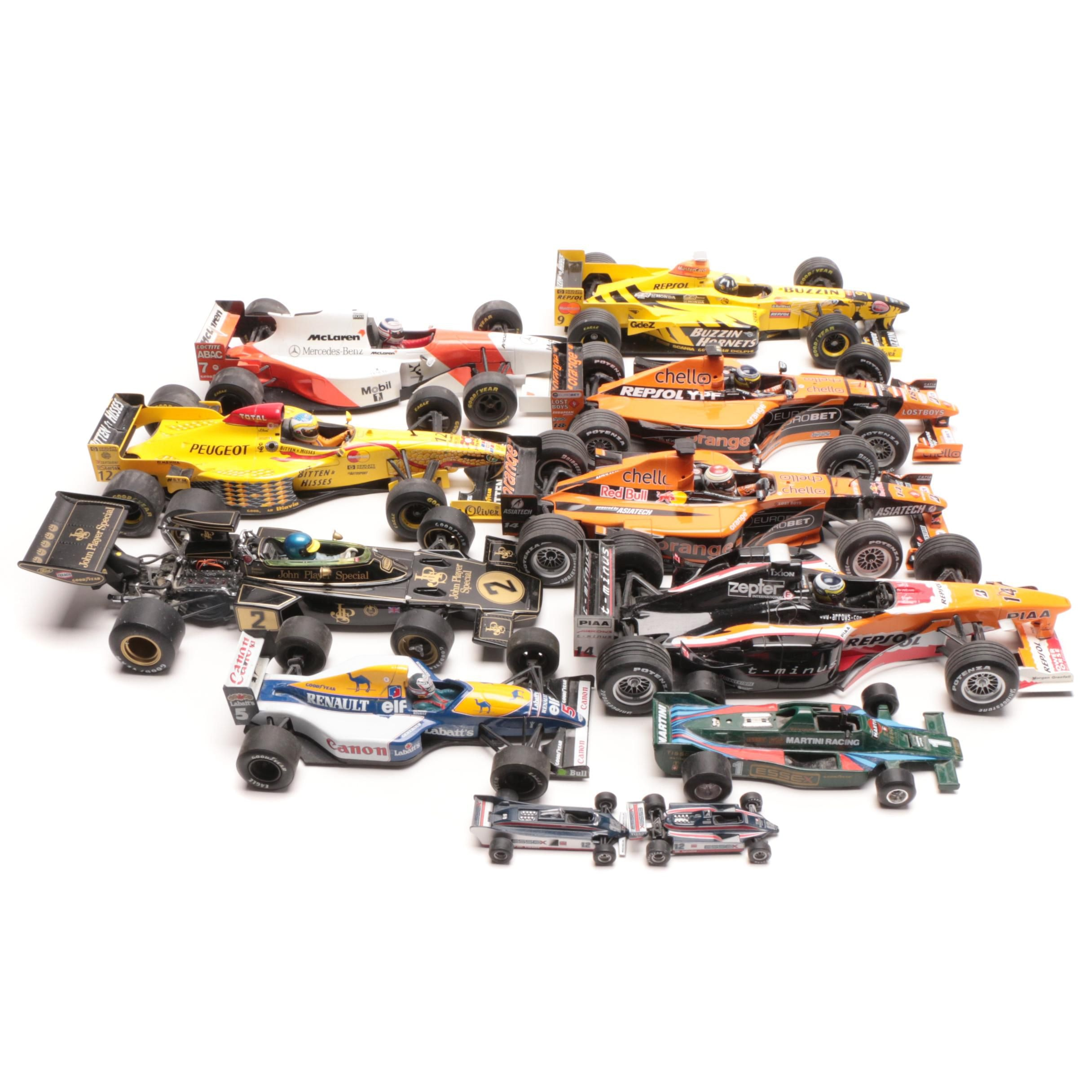 Indy Diecast Race Cars Including Grand Prix, Paul's Model Art and More