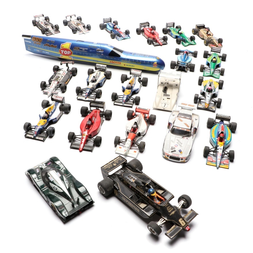 Indy Diecast Vehicles Including Paul's Model Art, Onyx and More