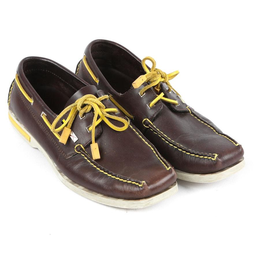 369d83522047 Men s Louis Vuitton Cup Leather Deck Shoes   EBTH