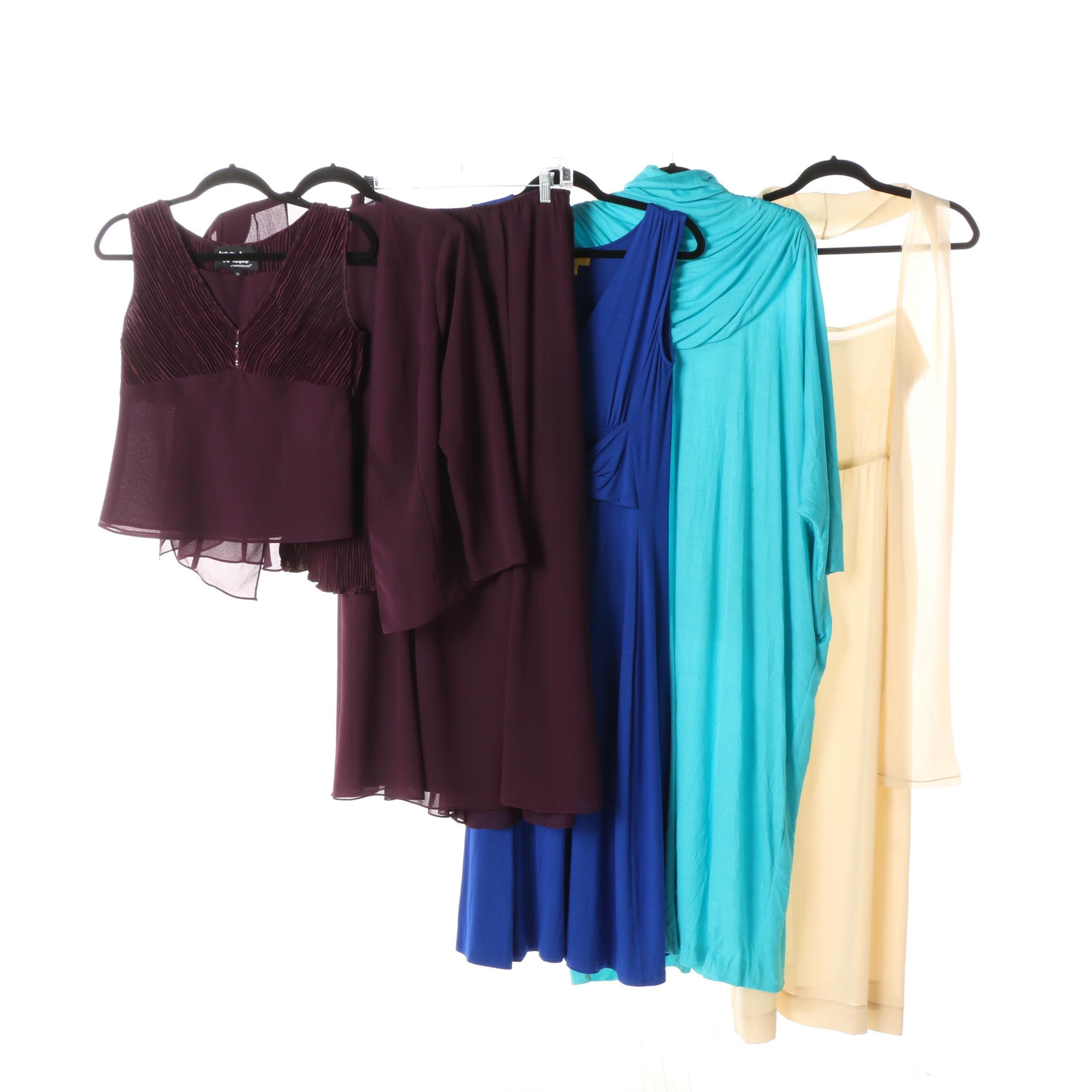 Women's Dresses and Skirt Set including Adele Simpson, Saks and Vintage