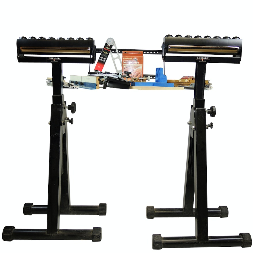 Rockler Roller Stands, Kreg Jig, and Woodworking Jigs and Fences