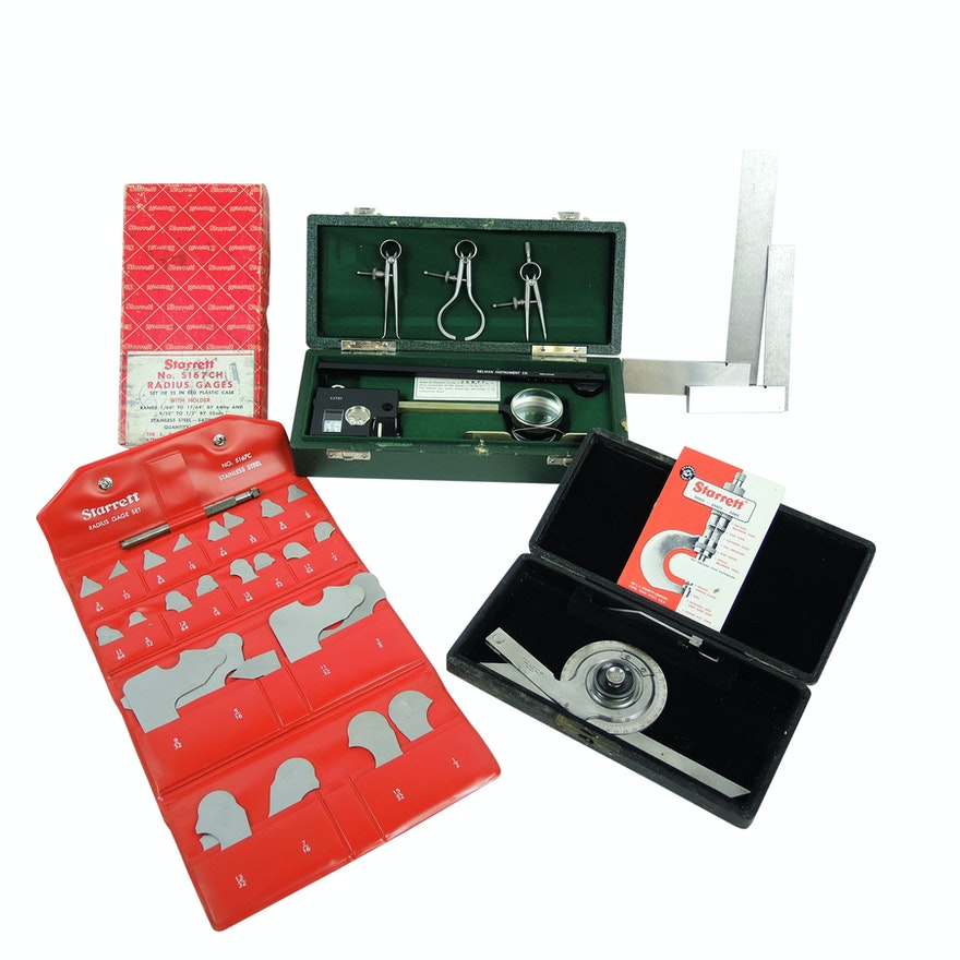 Gelman Instrument Co. Polar Planimeter and Precision Instruments