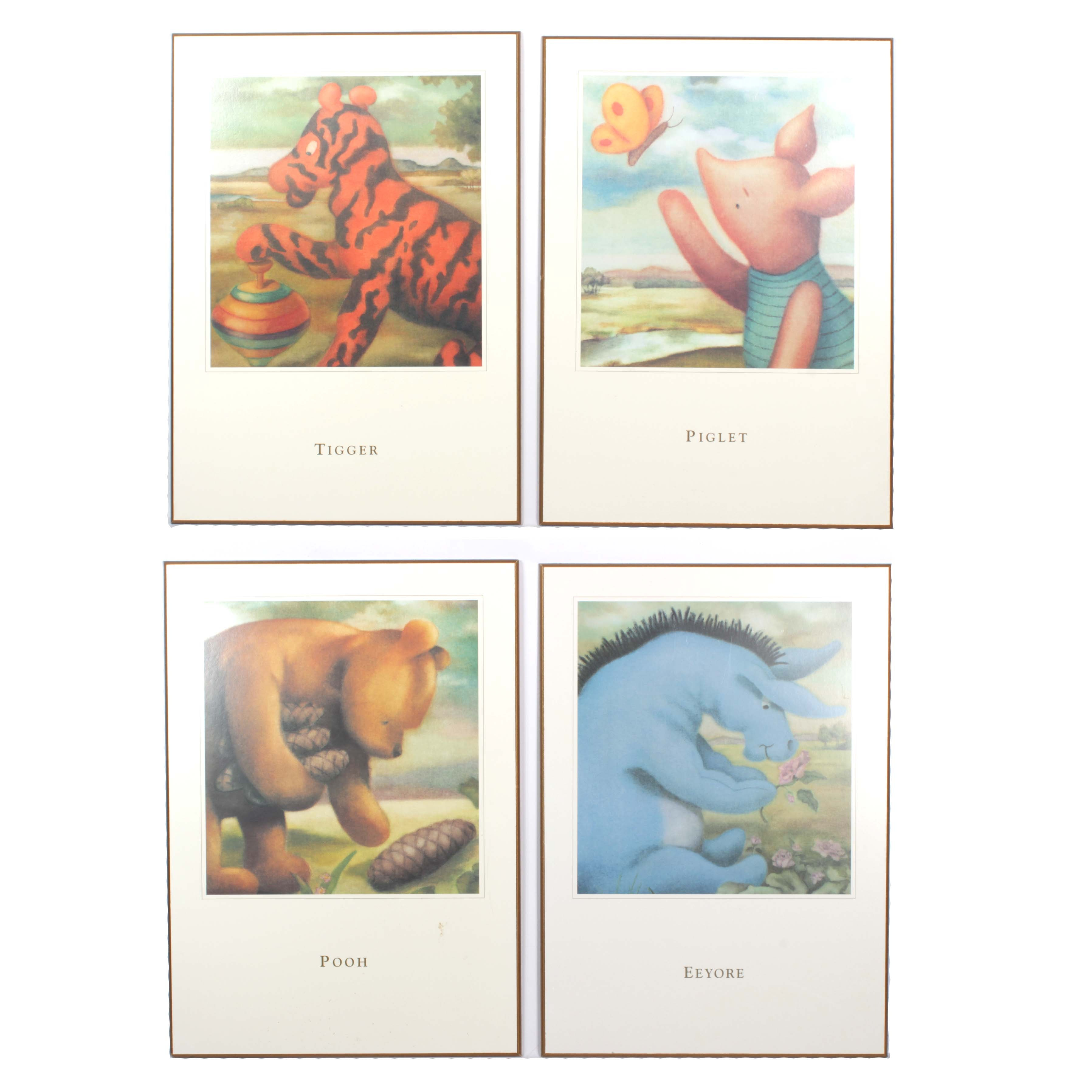 Winnie the Pooh Large Wooden Wall Plaques