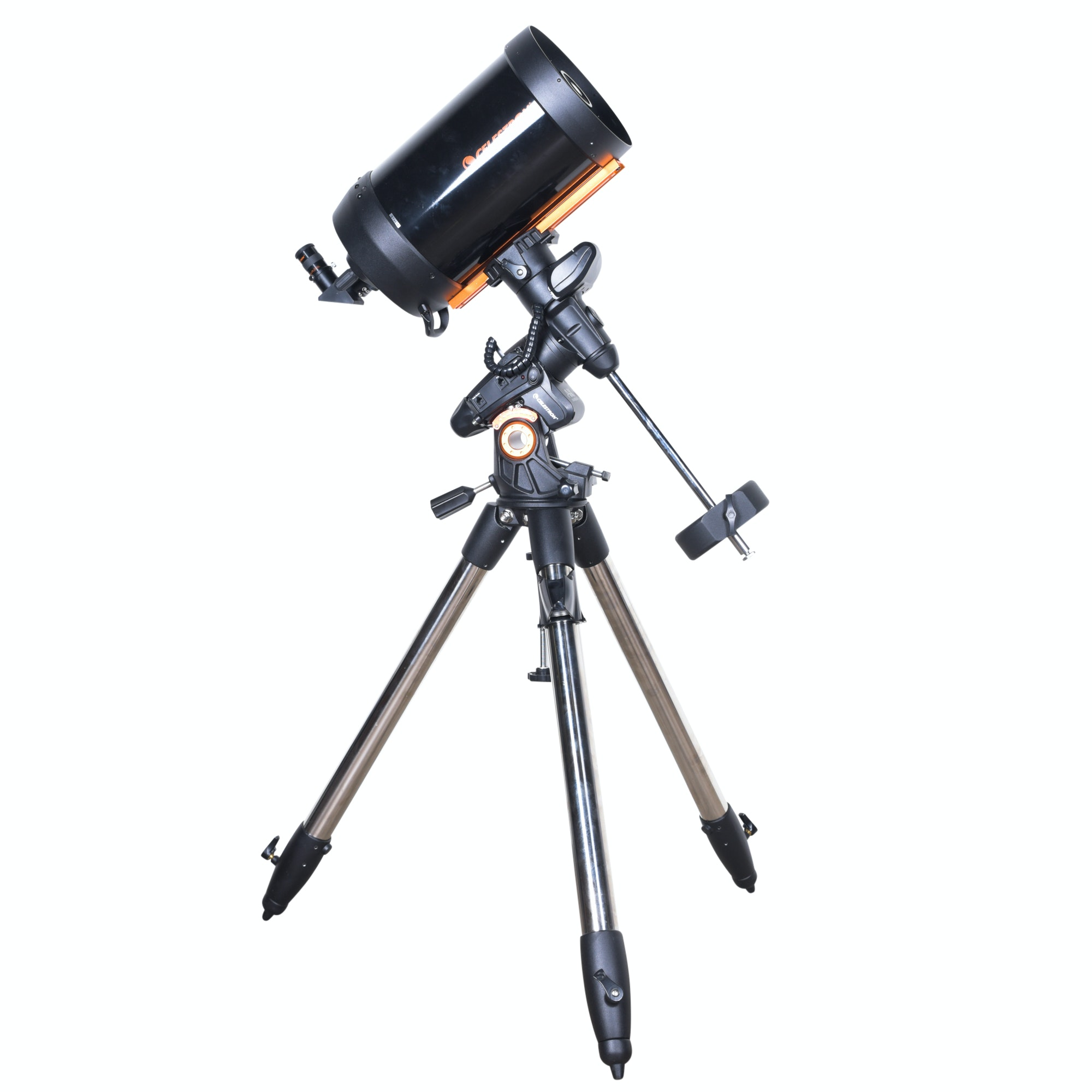 Celestron Telescope with StarBright XLT and Advanced VX Computerized Mount