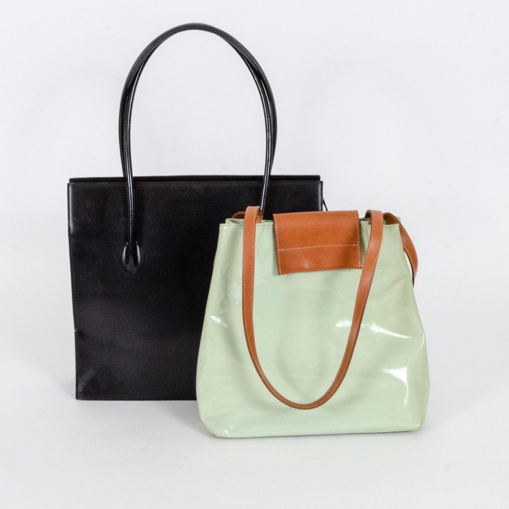 Blach and Penthesileia Fashion Handbags