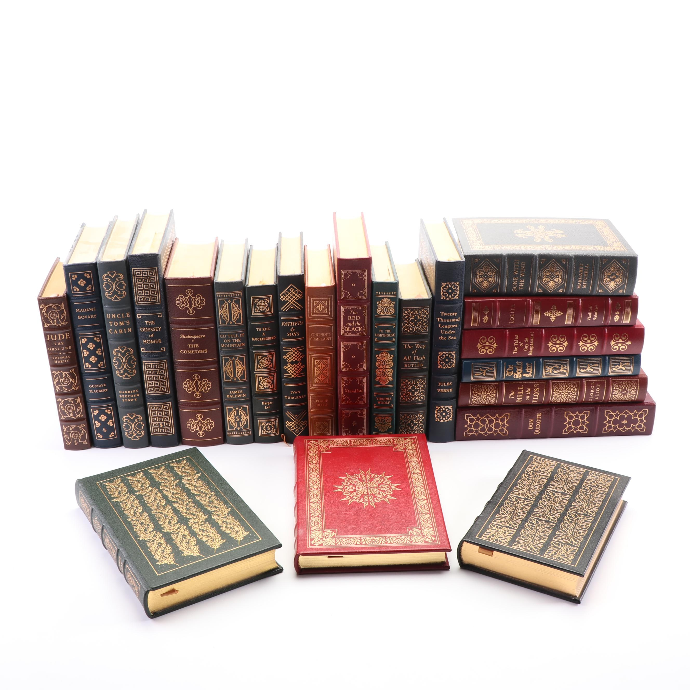 """Easton Press Editions including """"Uncle Tom's Cabin"""" by Harriet Beecher Stowe"""