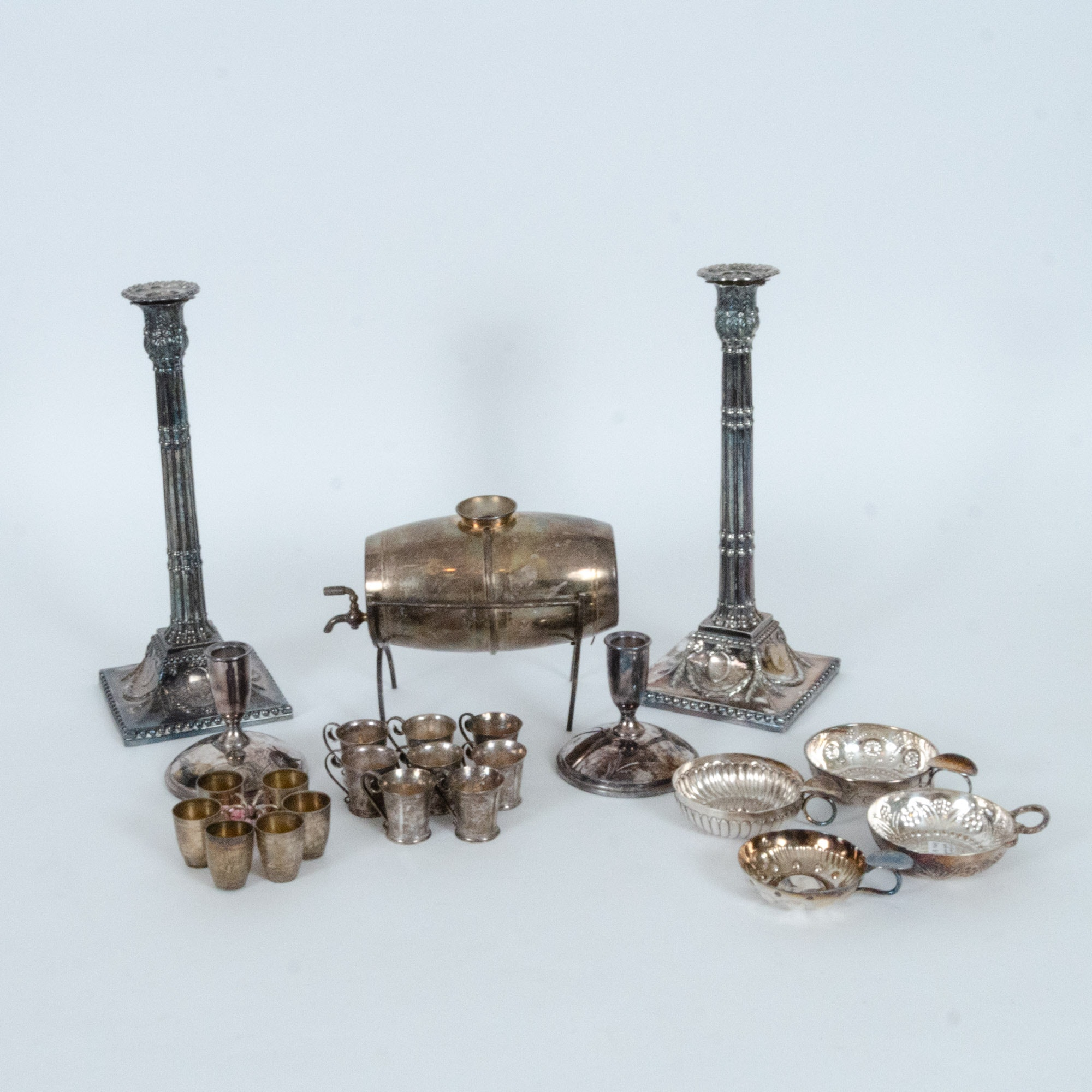 Vintage Silver Plate Serving Pieces and Tableware