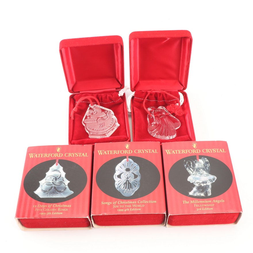 Waterford Crystal Christmas Ornaments.Waterford Crystal Christmas Ornaments