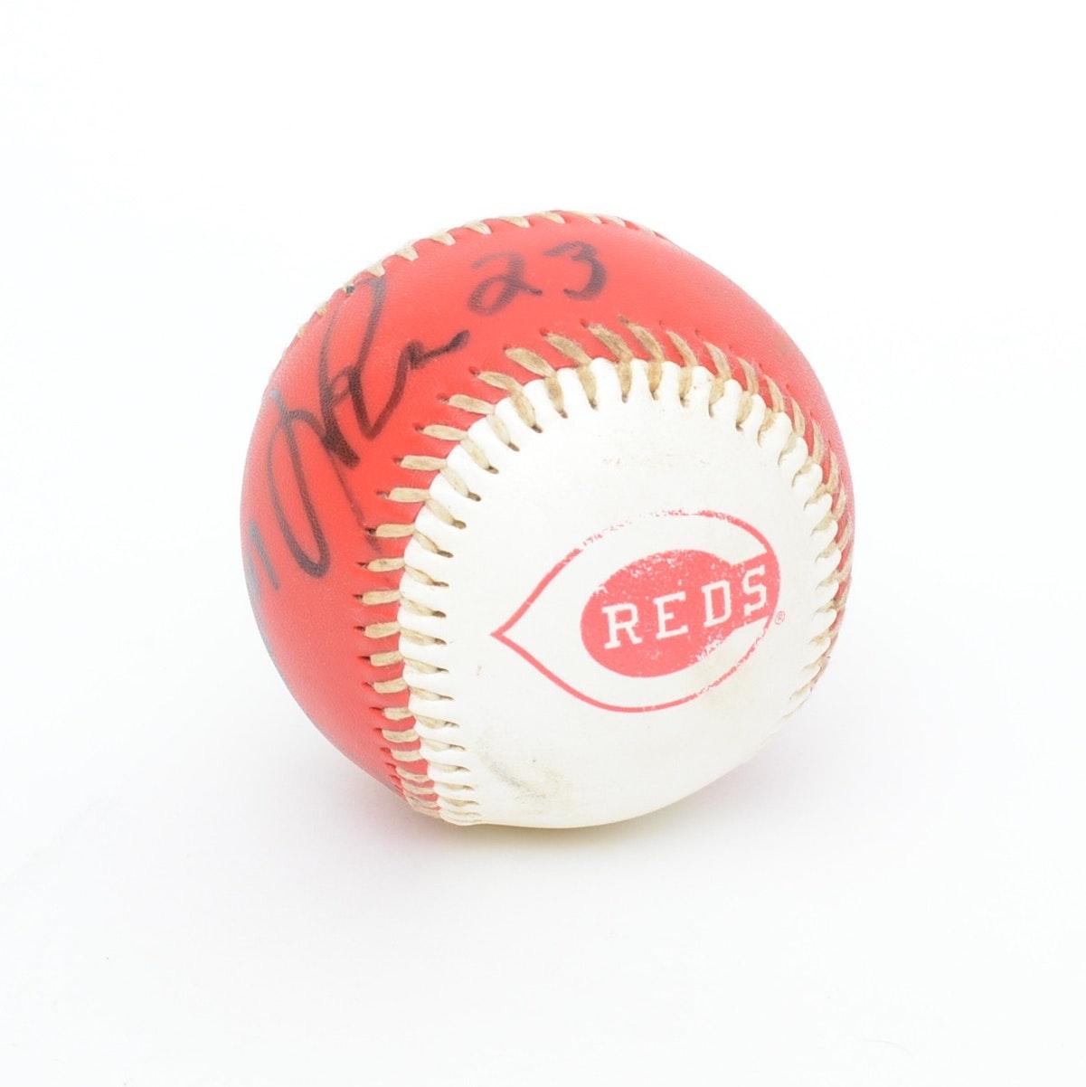 Cincinnati Reds Autographed Ball