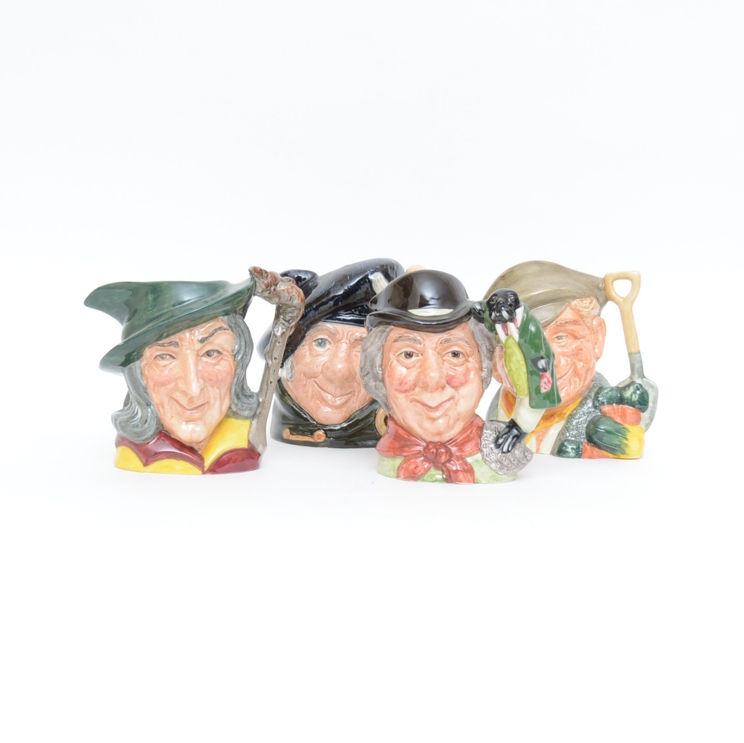 Collection of Vintage Royal Doulton Character Jugs