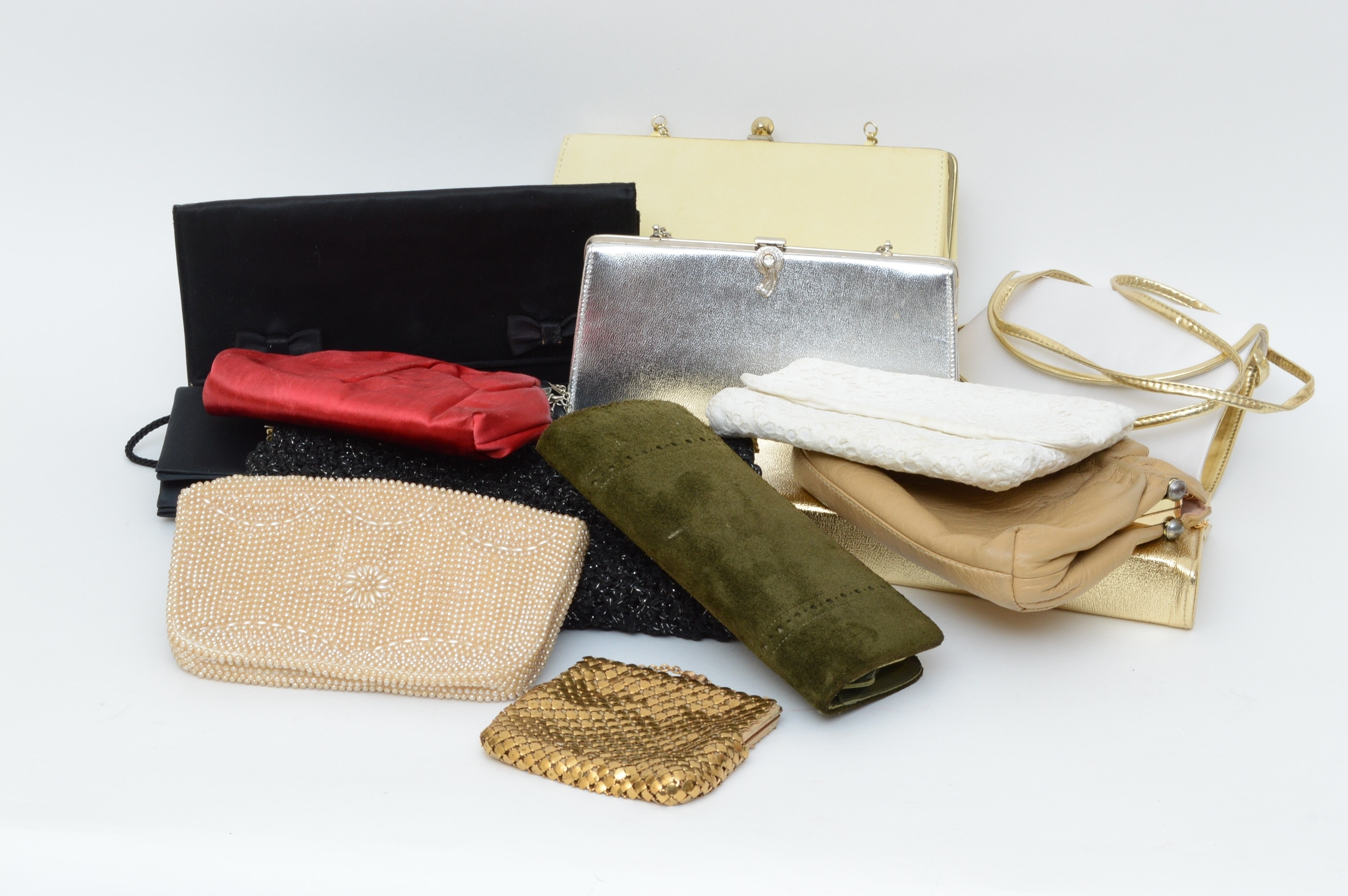 Collection of Vintage Evening Purses including La Regale