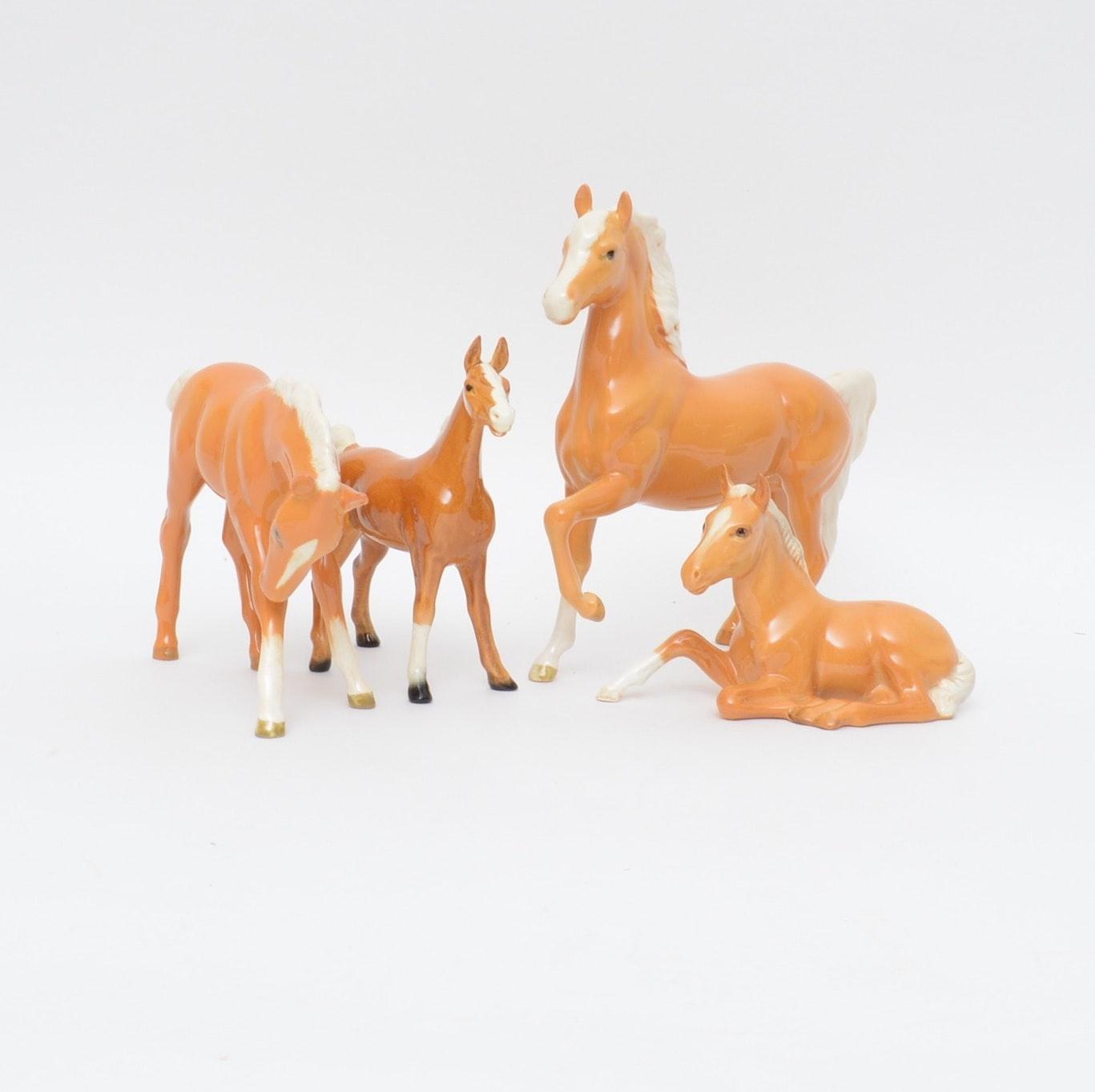 Beswick Porcelain Horse Figurines