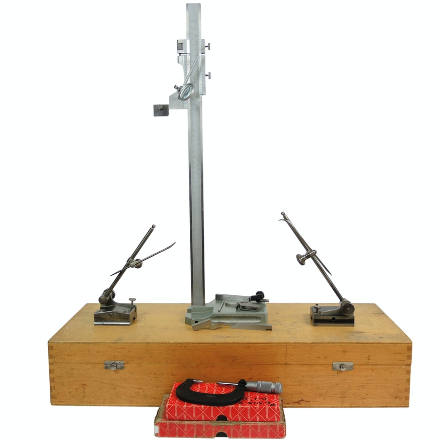Machinist Height Gauge and Precision Instruments