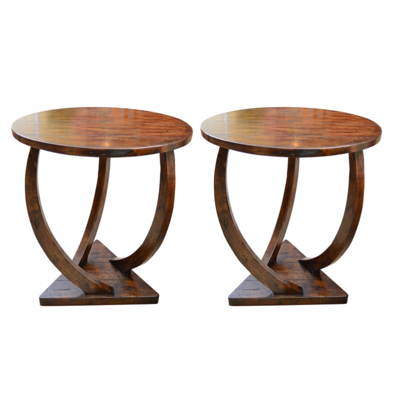 Pair of Modern Side Tables from Uttermost