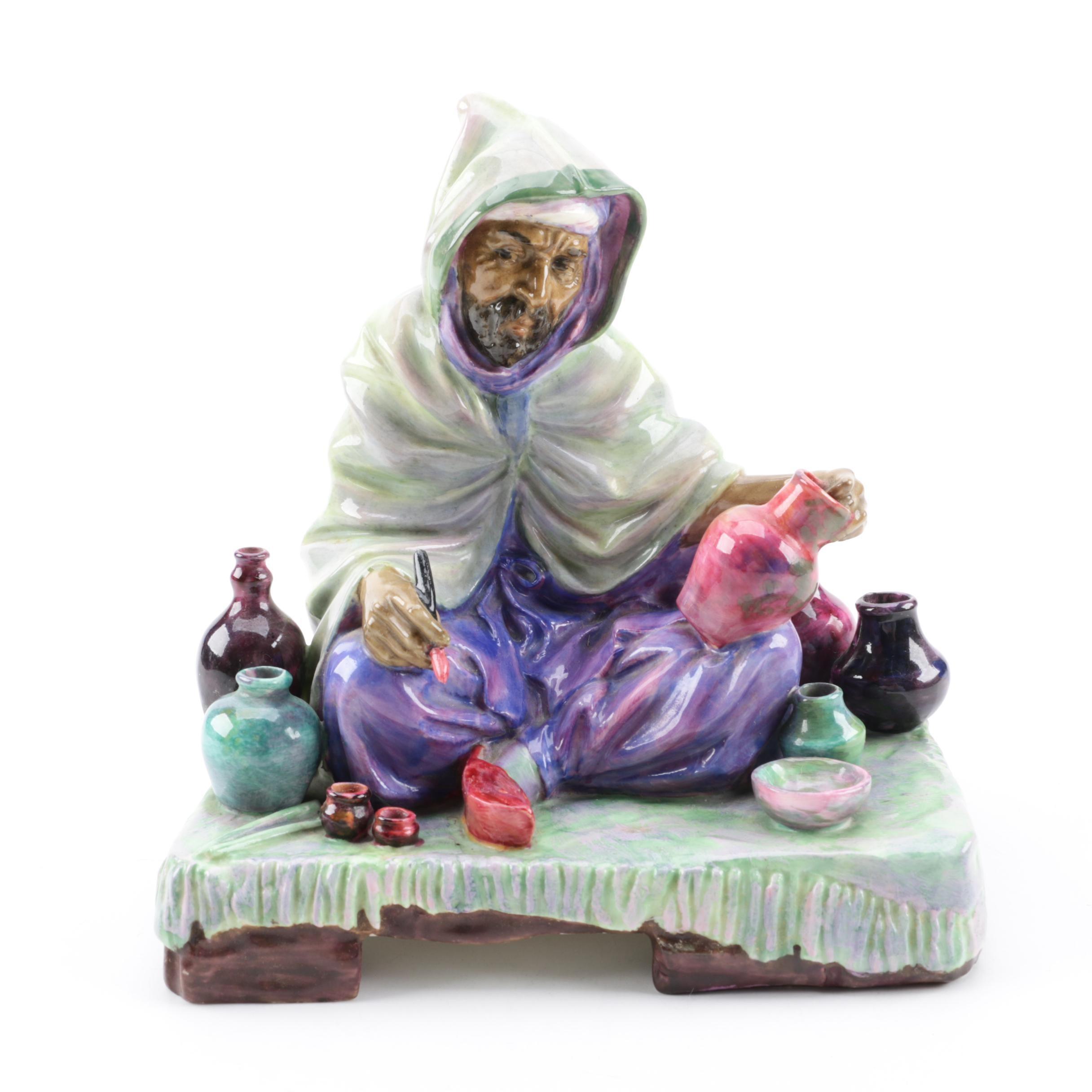"""Royal Doulton """"The Potter"""" Bone China Figurine"""