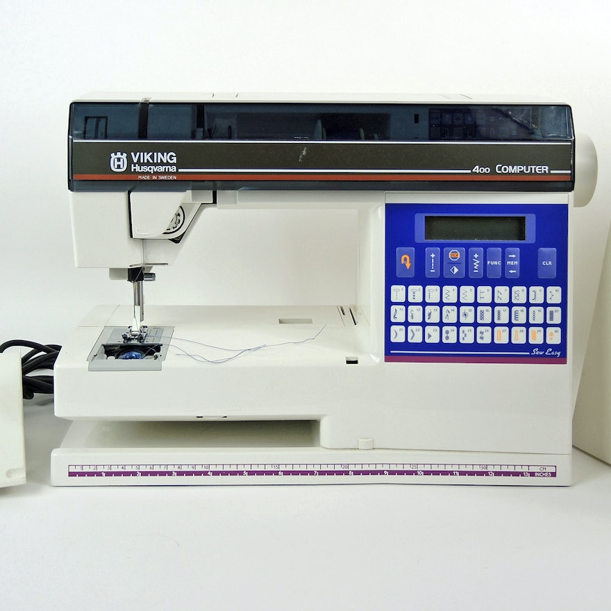 Husqvarna Viking 400 Sewing Machine
