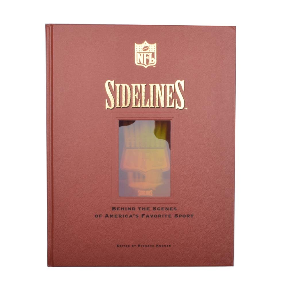 "Johnny Unitas Signed ""Sidelines"" Book"