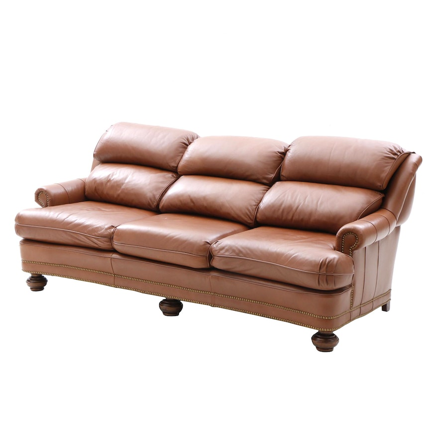 Contemporary Leather Sofa by Leathercraft