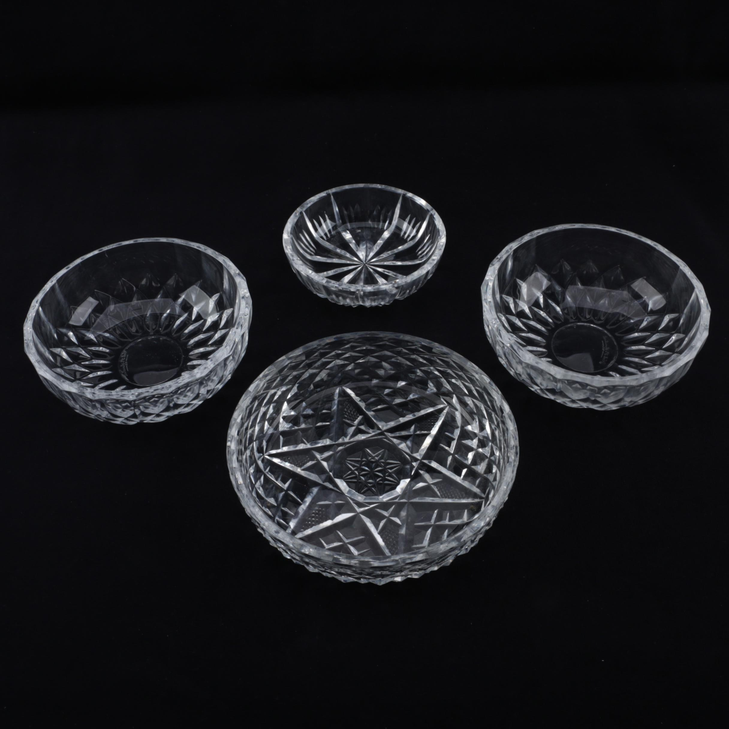Crystal Bowls Featuring Waterford Crystal and Val St. Lambert