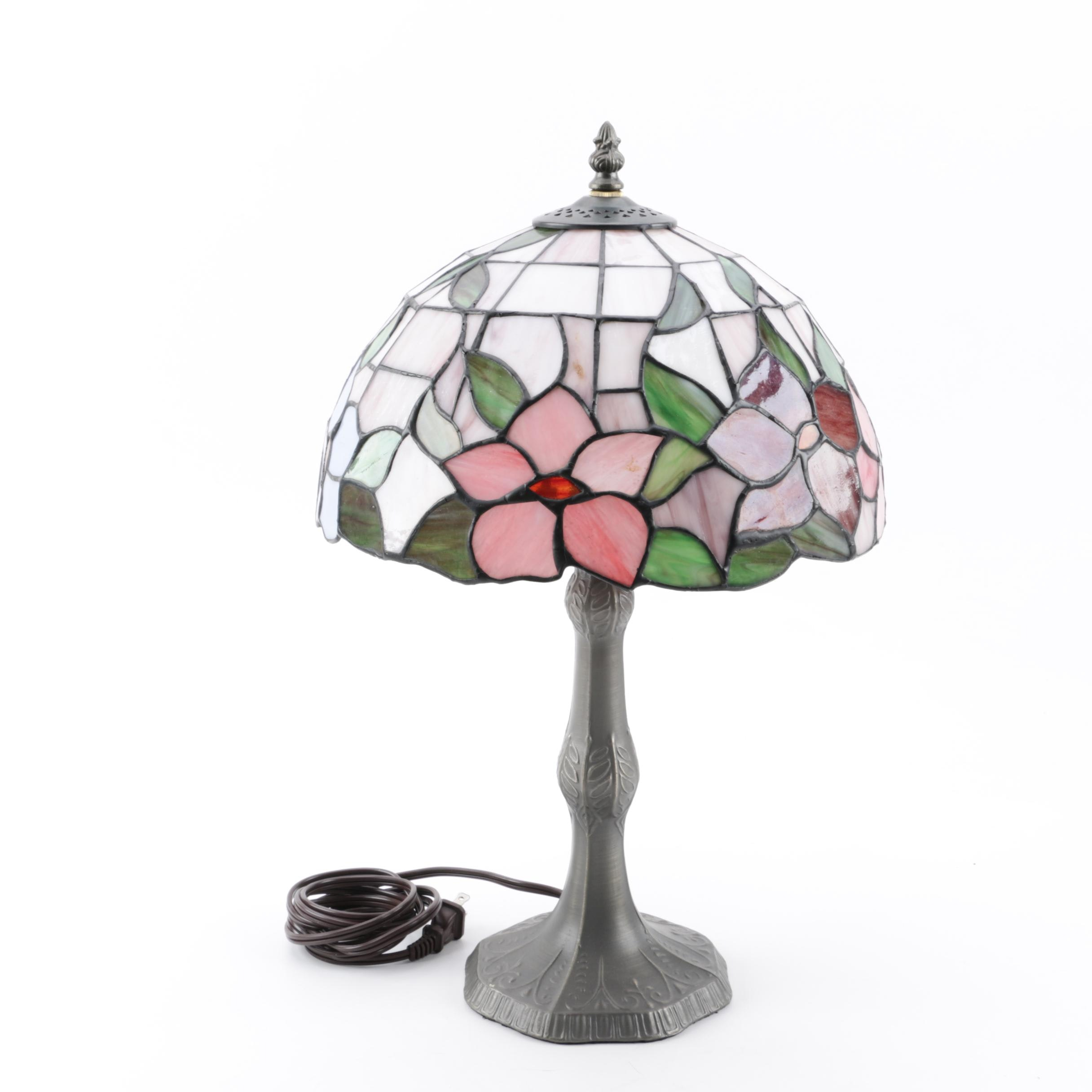 Contemporary Tiffany Style Table Lamp