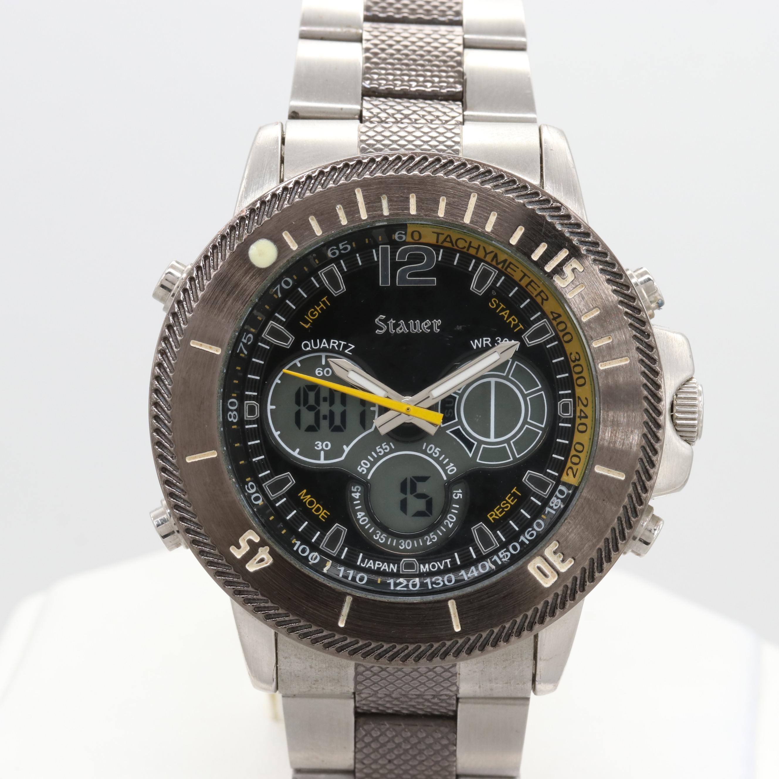 Stauer Digital/Analog Wristwatch