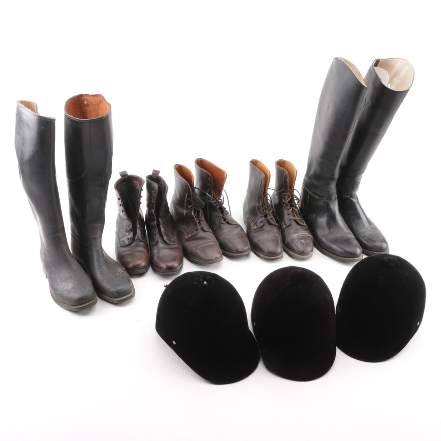 ab0ba58f6365 Women s Equestrian Boots and Hats including Imperial by Marlborough ...