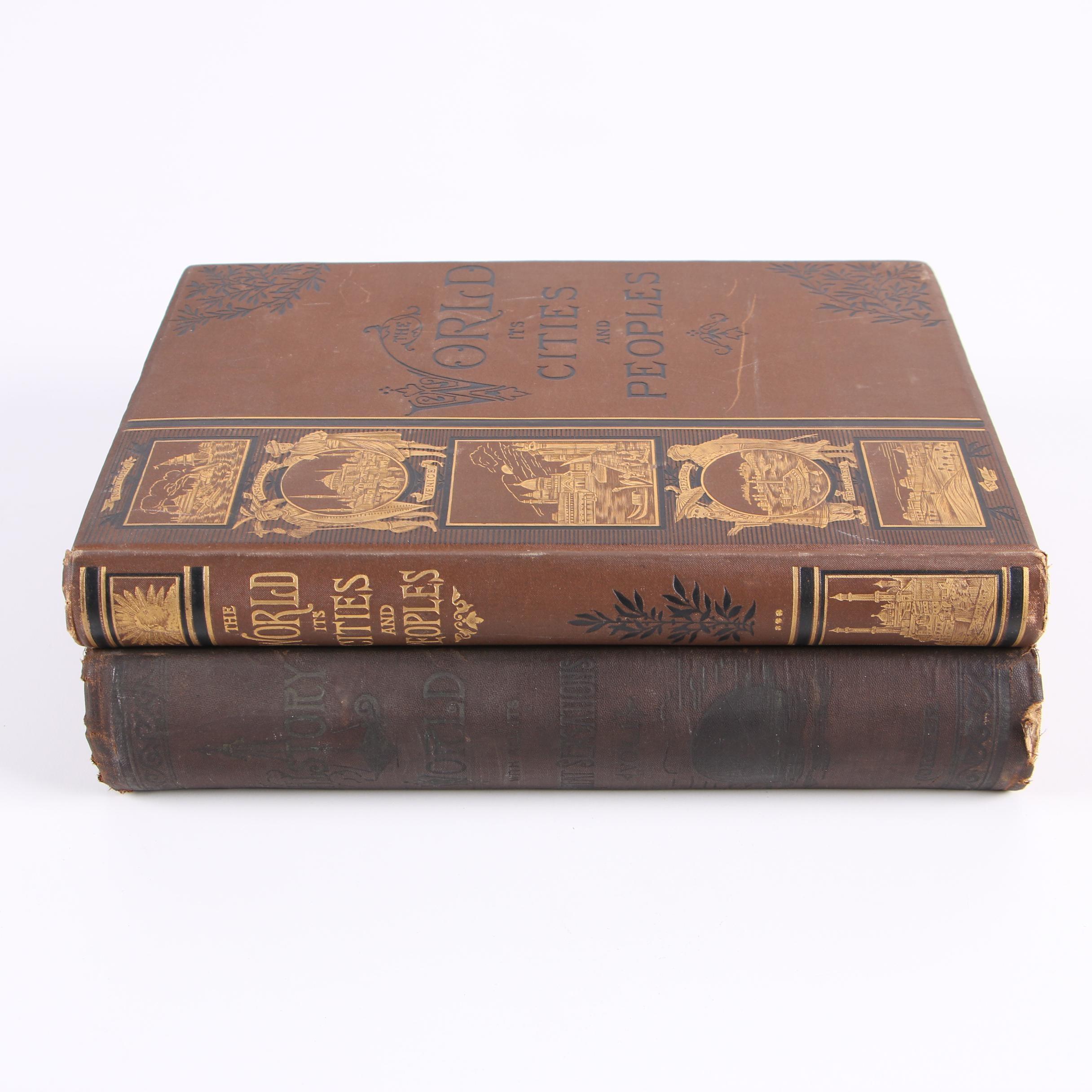 Late 19th Century Books on World History