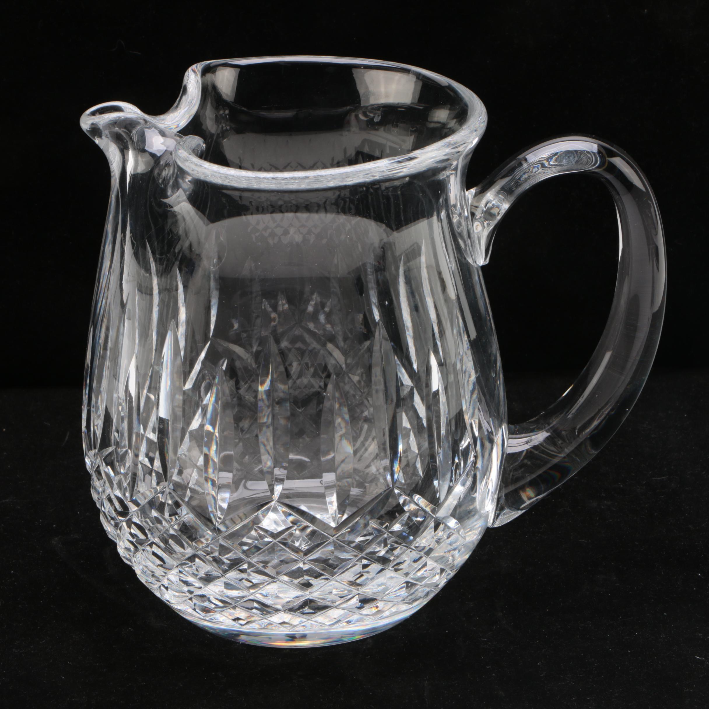 """Waterford Crystal """"Lismore"""" Jug"""