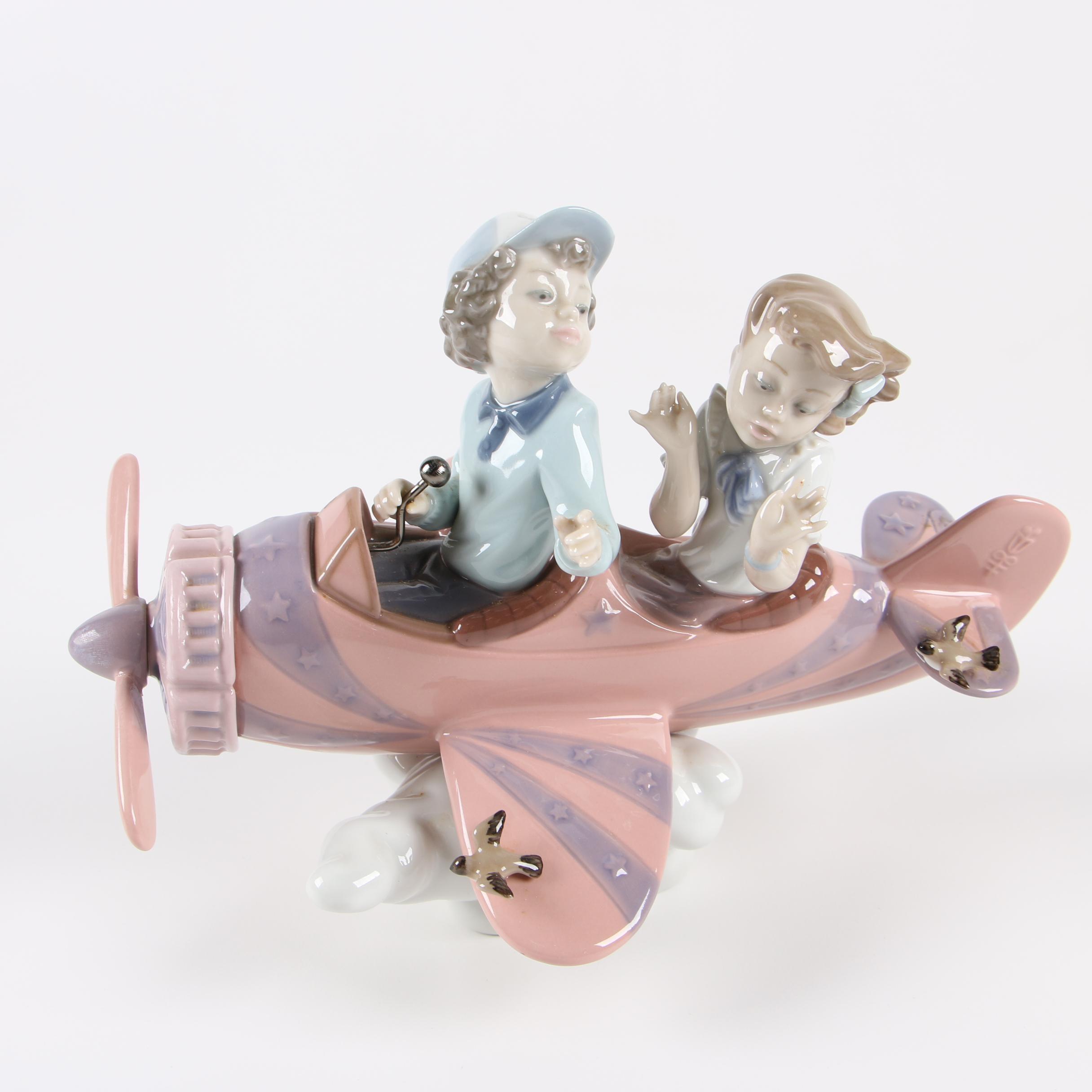 """Lladró """"Don't Look Down"""" Porcelain Figurine"""