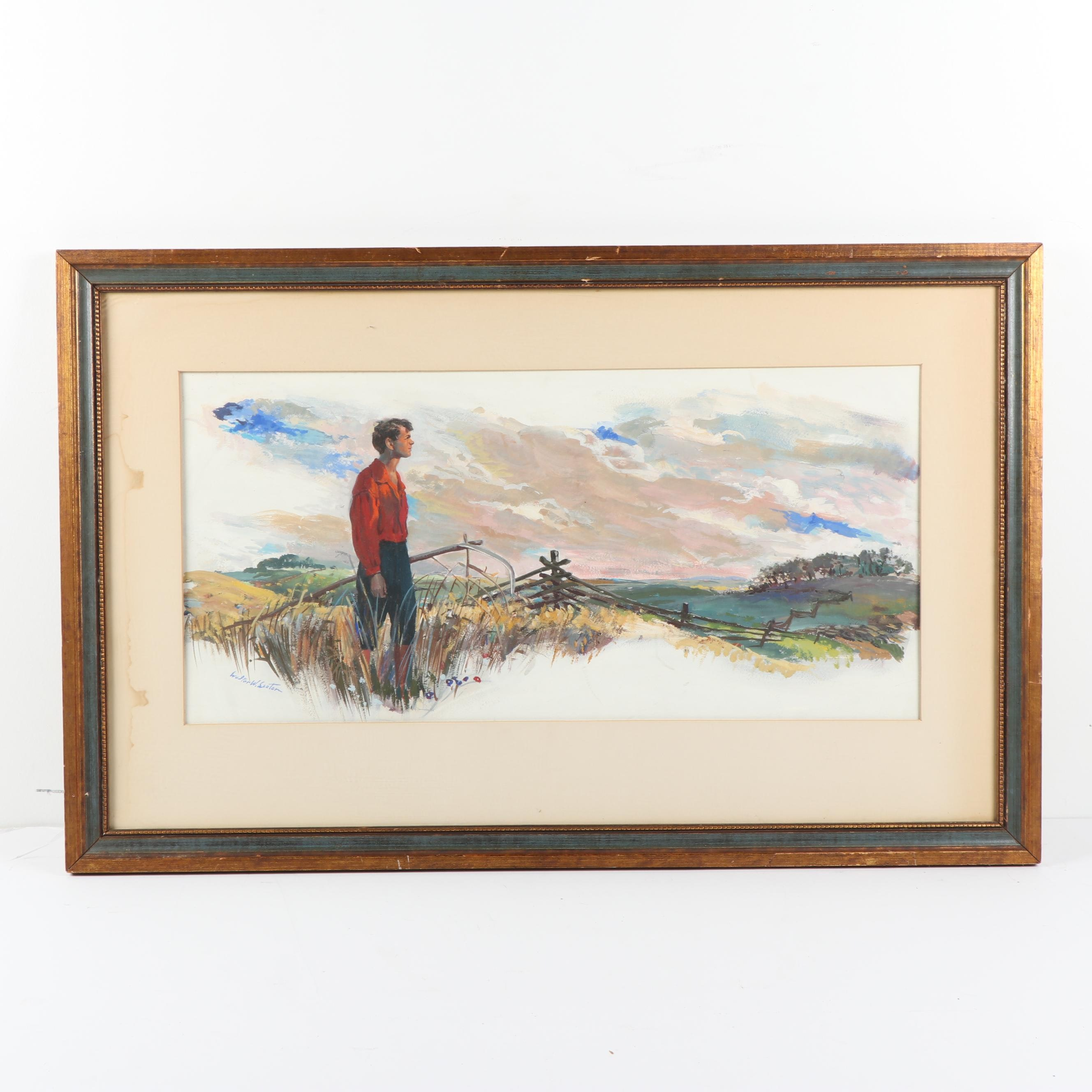 Walter Wallace Seaton Oil Painting