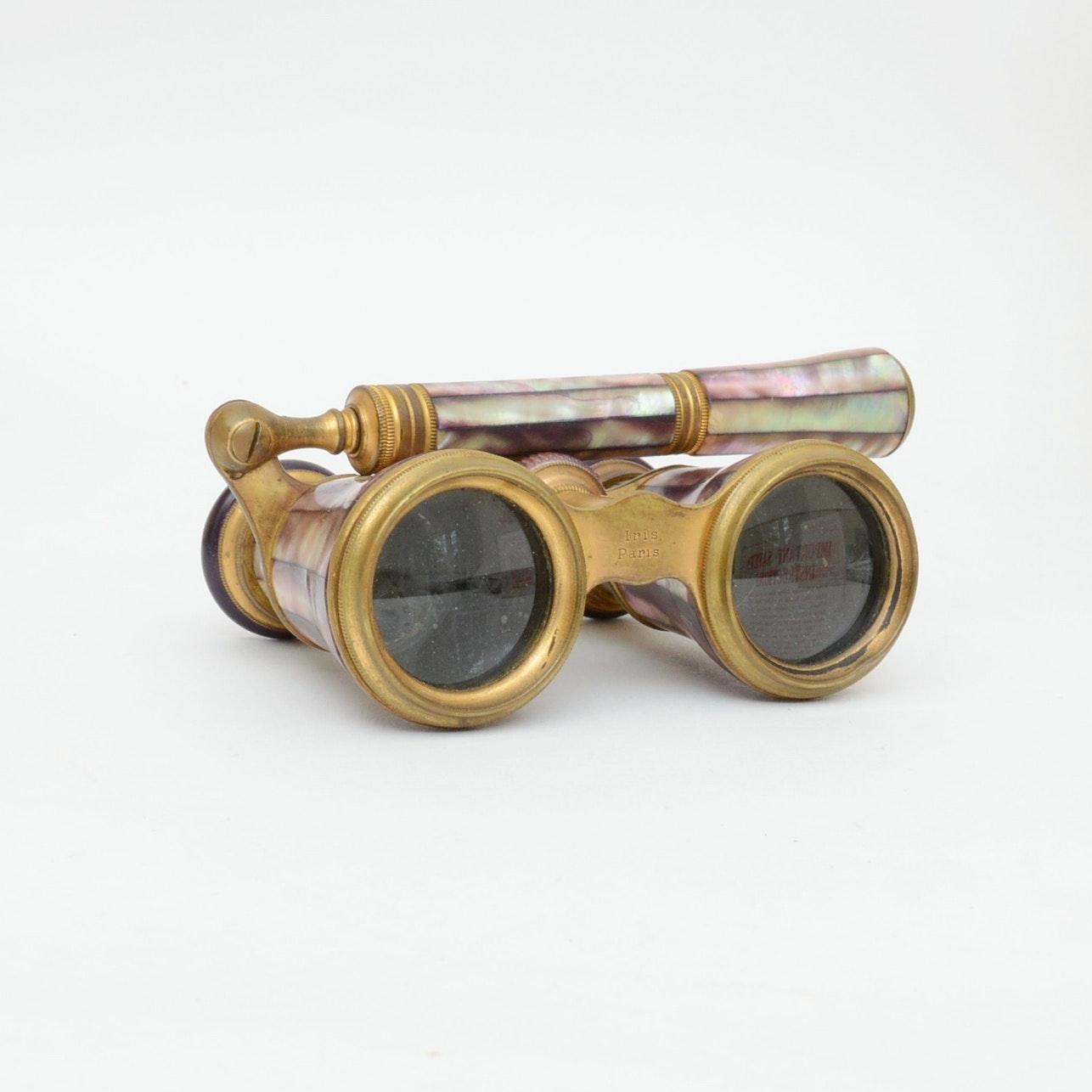 Antique Opera Glasses by Iris of Paris