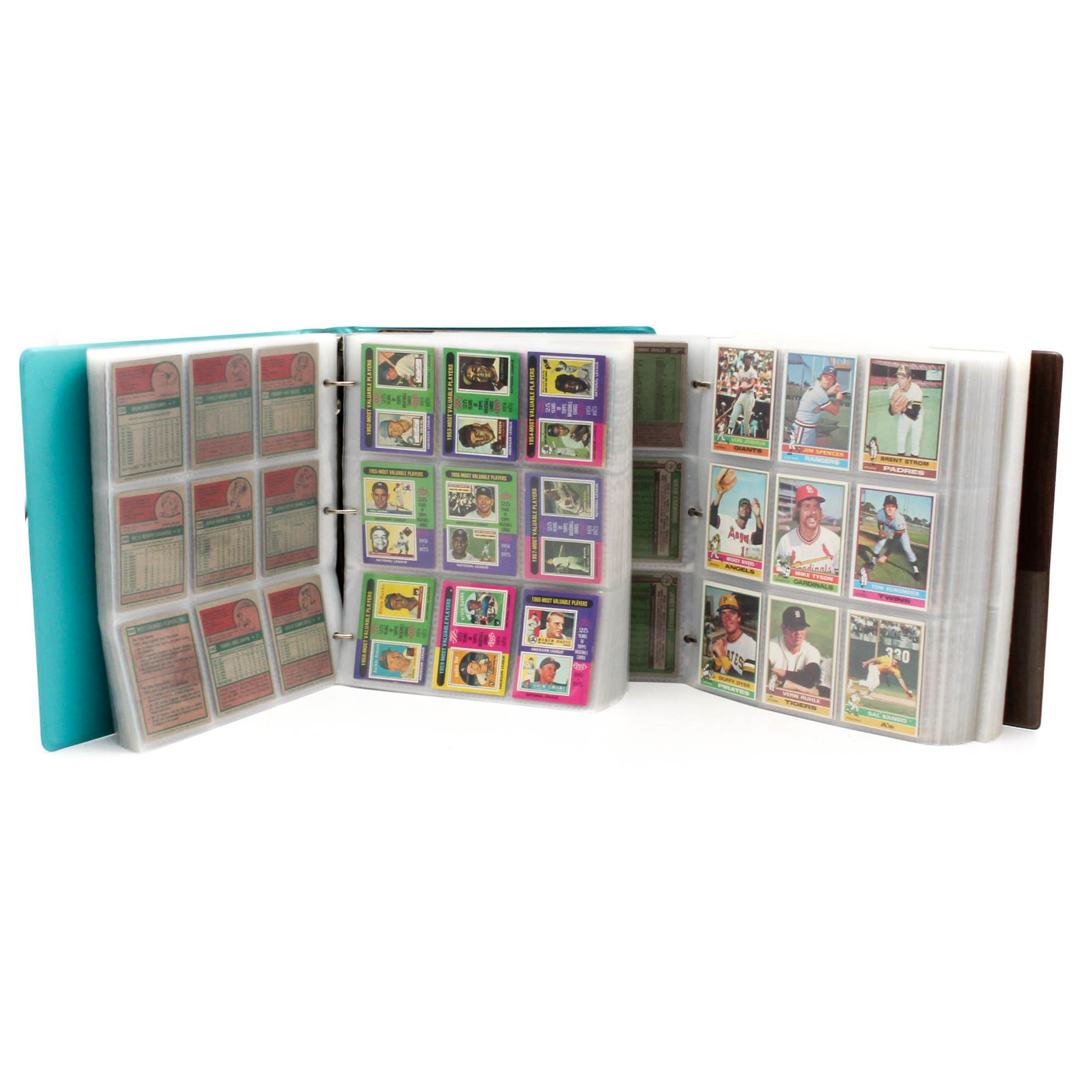 Near Complete 1975 and 1977 Topps Baseball Card Collections