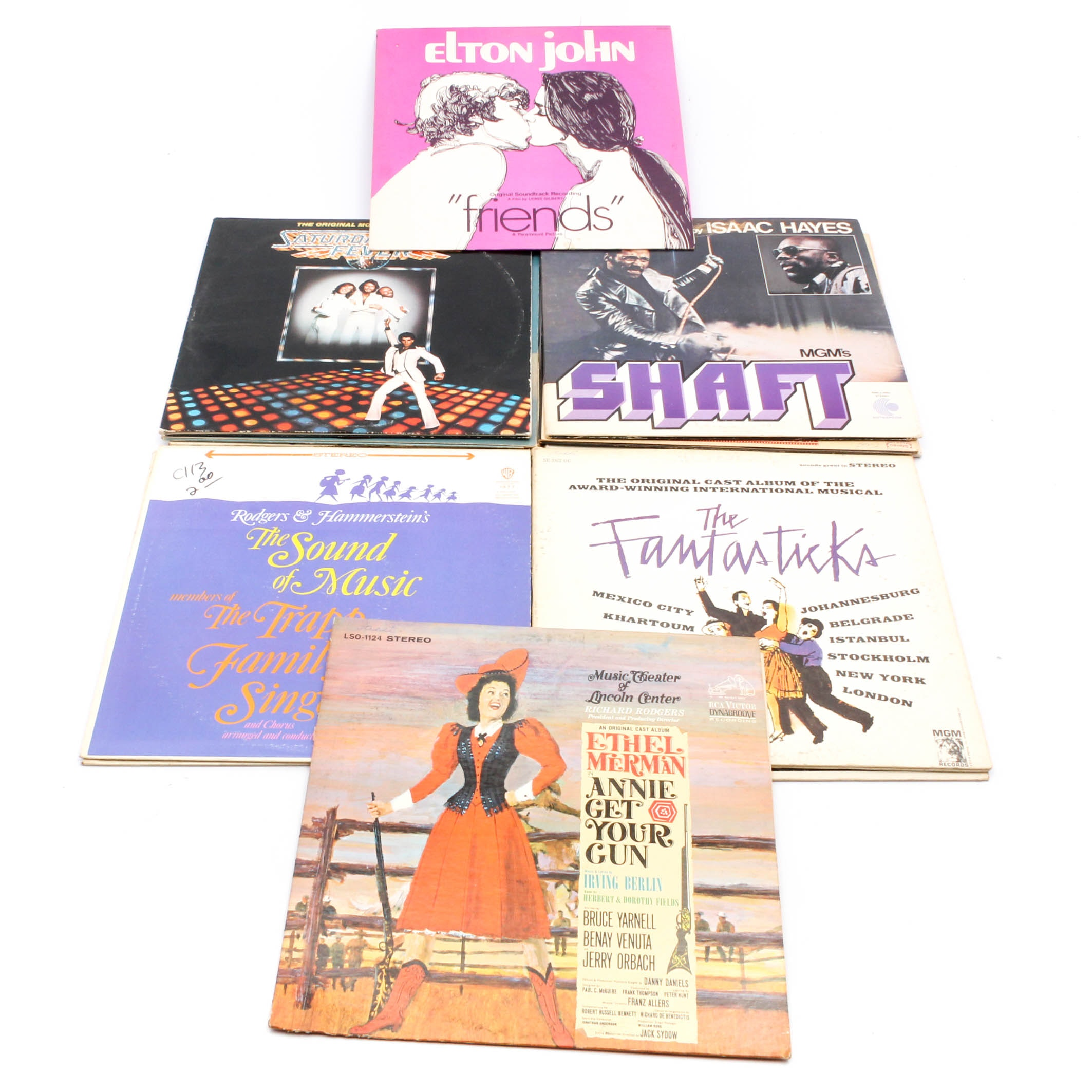 Vintage Movie and Broadway Soundtrack Records
