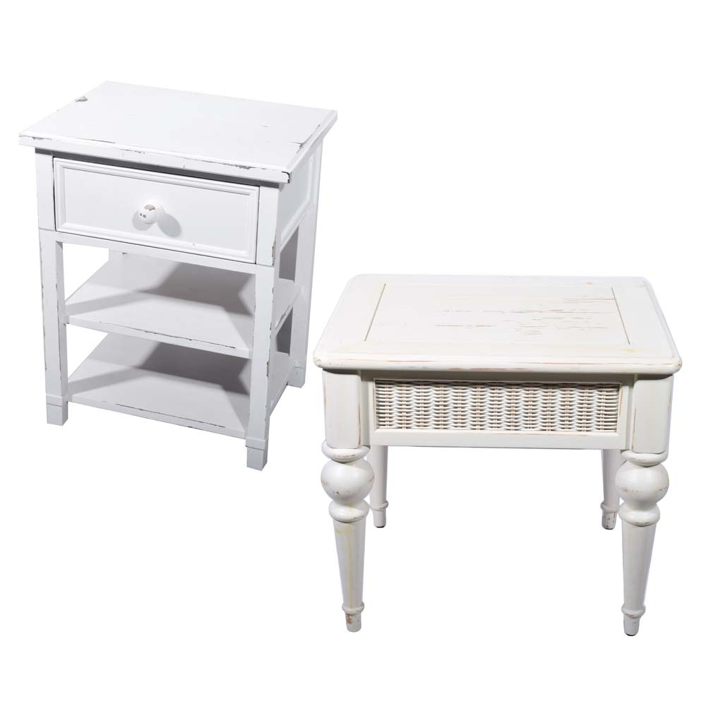 Painted Occasional Tables Including CafeKid