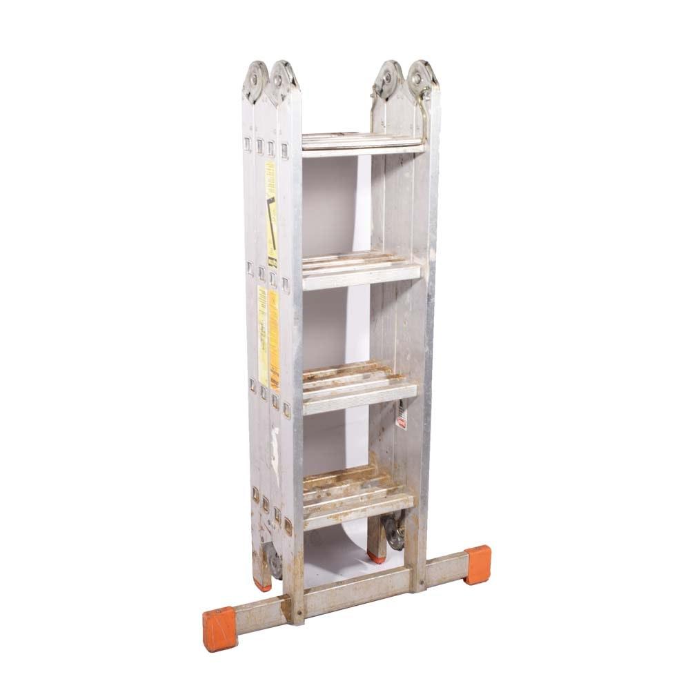 Krause MultiMatic 16' Aluminum Step Ladder