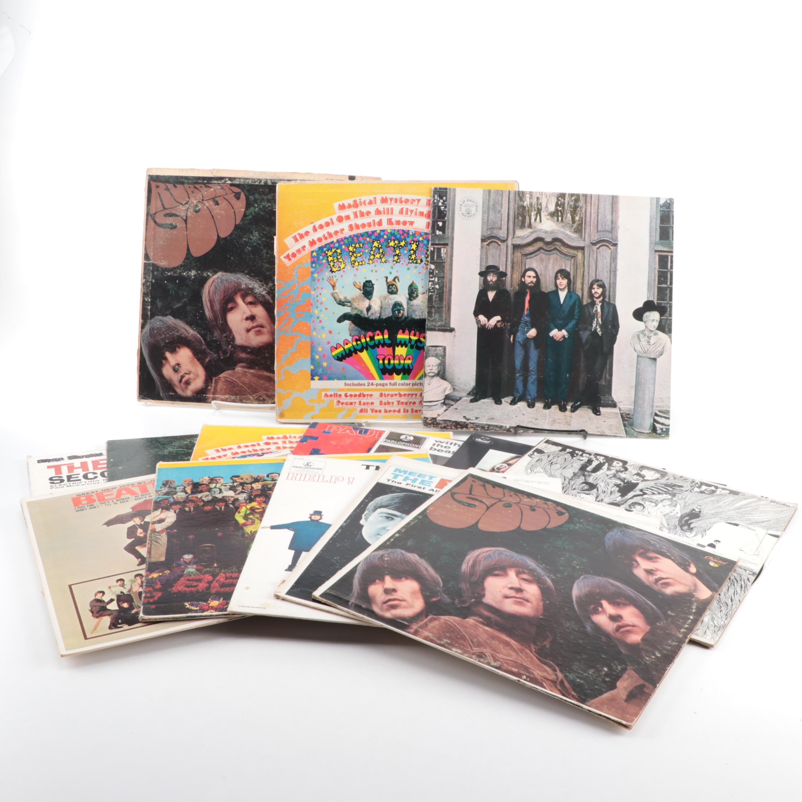 """""""Rubber Soul"""", """"Revolver"""", """"Magical Mystery Tour"""" and Other Beatles Records"""