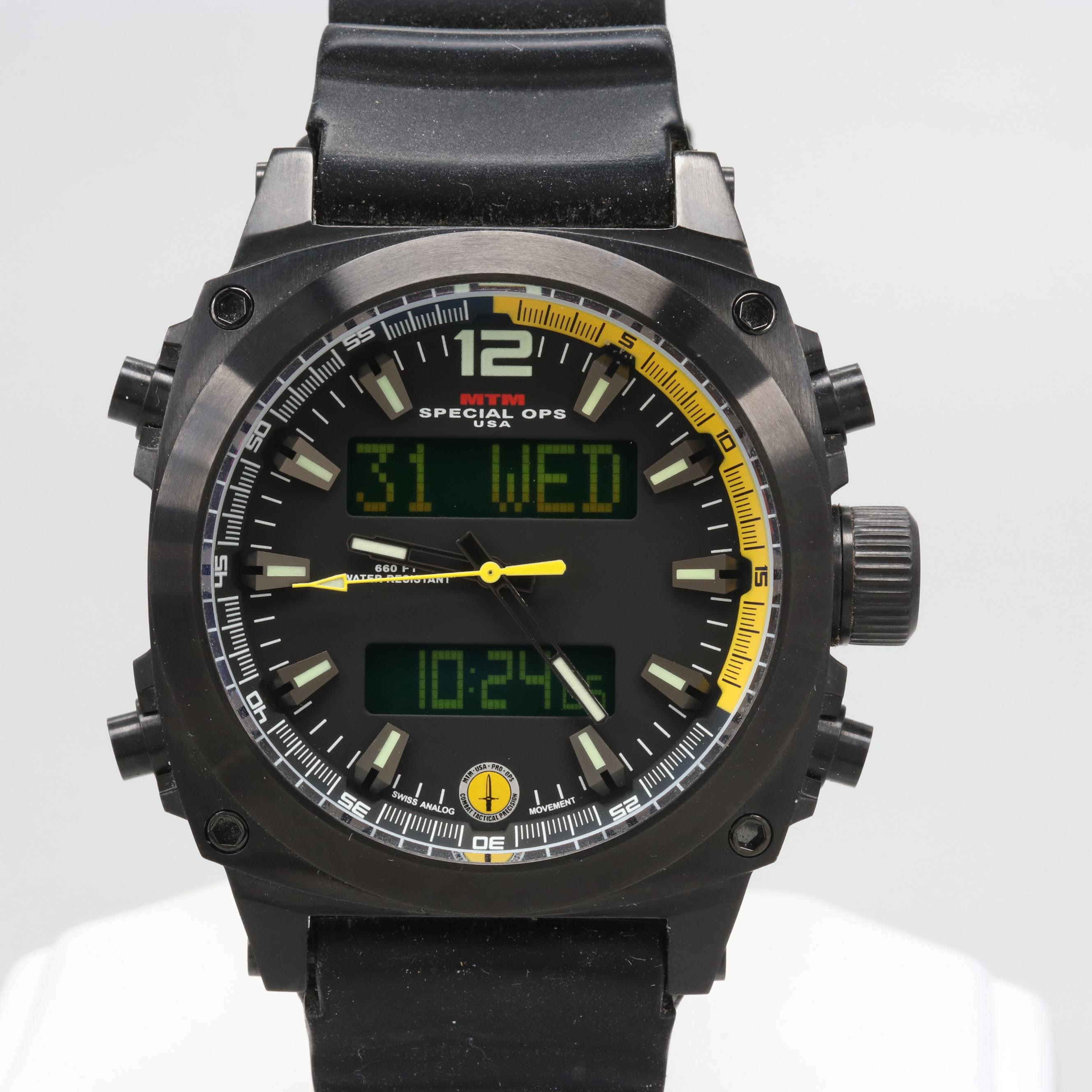 MTM Special Ops 660 Feet Water Resistant Wristwatch