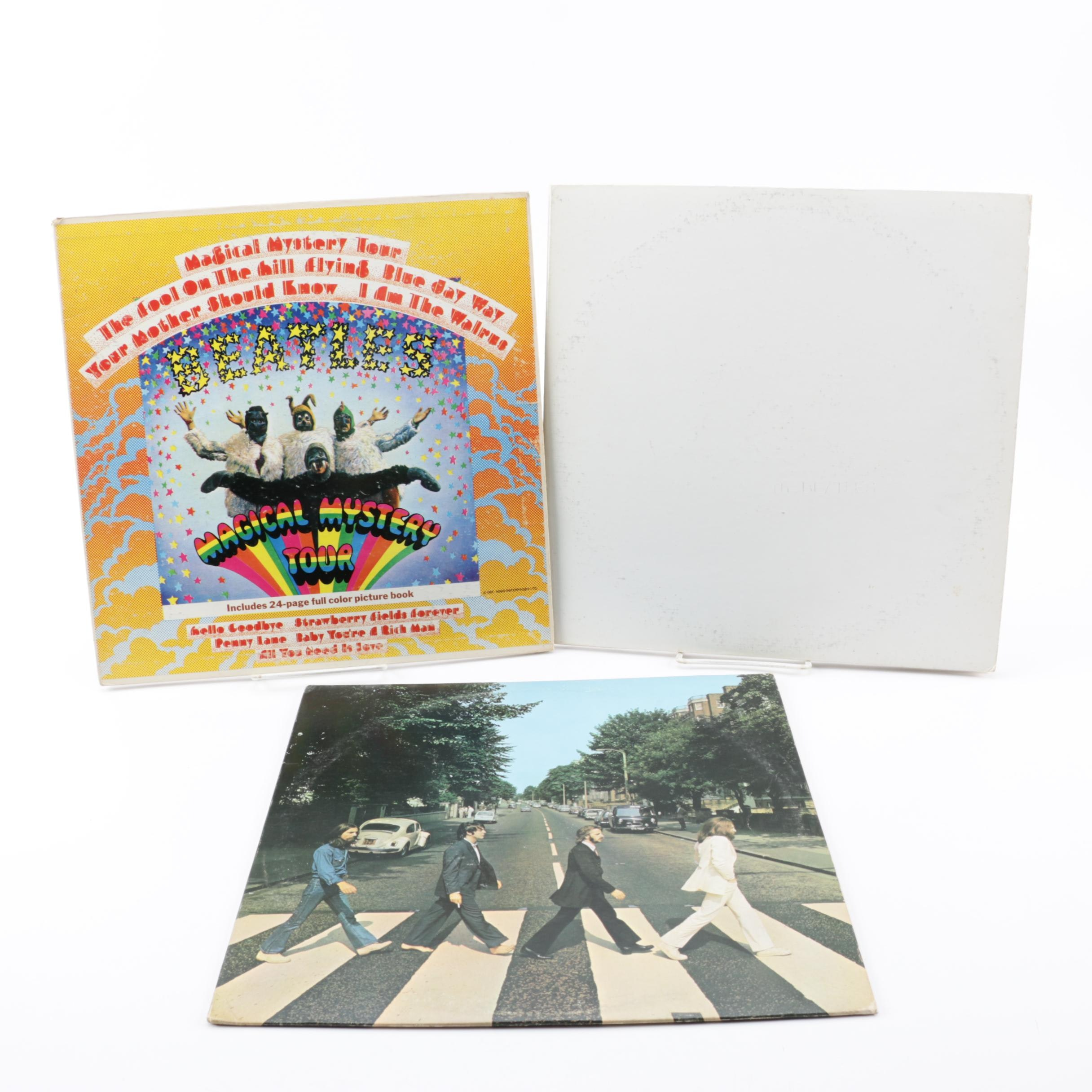 "The Beatles ""Abbey Road"" and ""Magical Mystery Tour"" Scranton Pressings LPs"