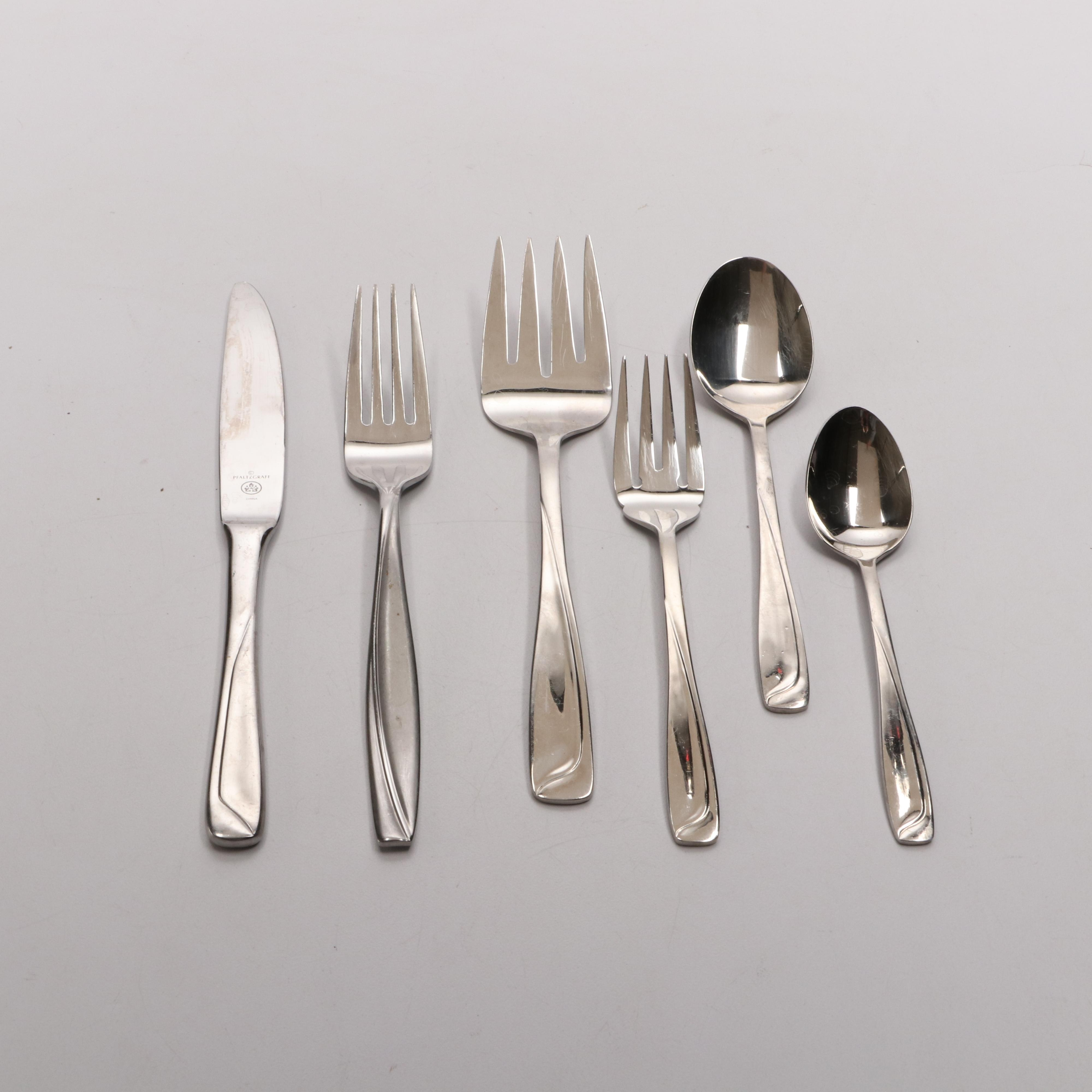 Assorted Stainless Steel Flatware
