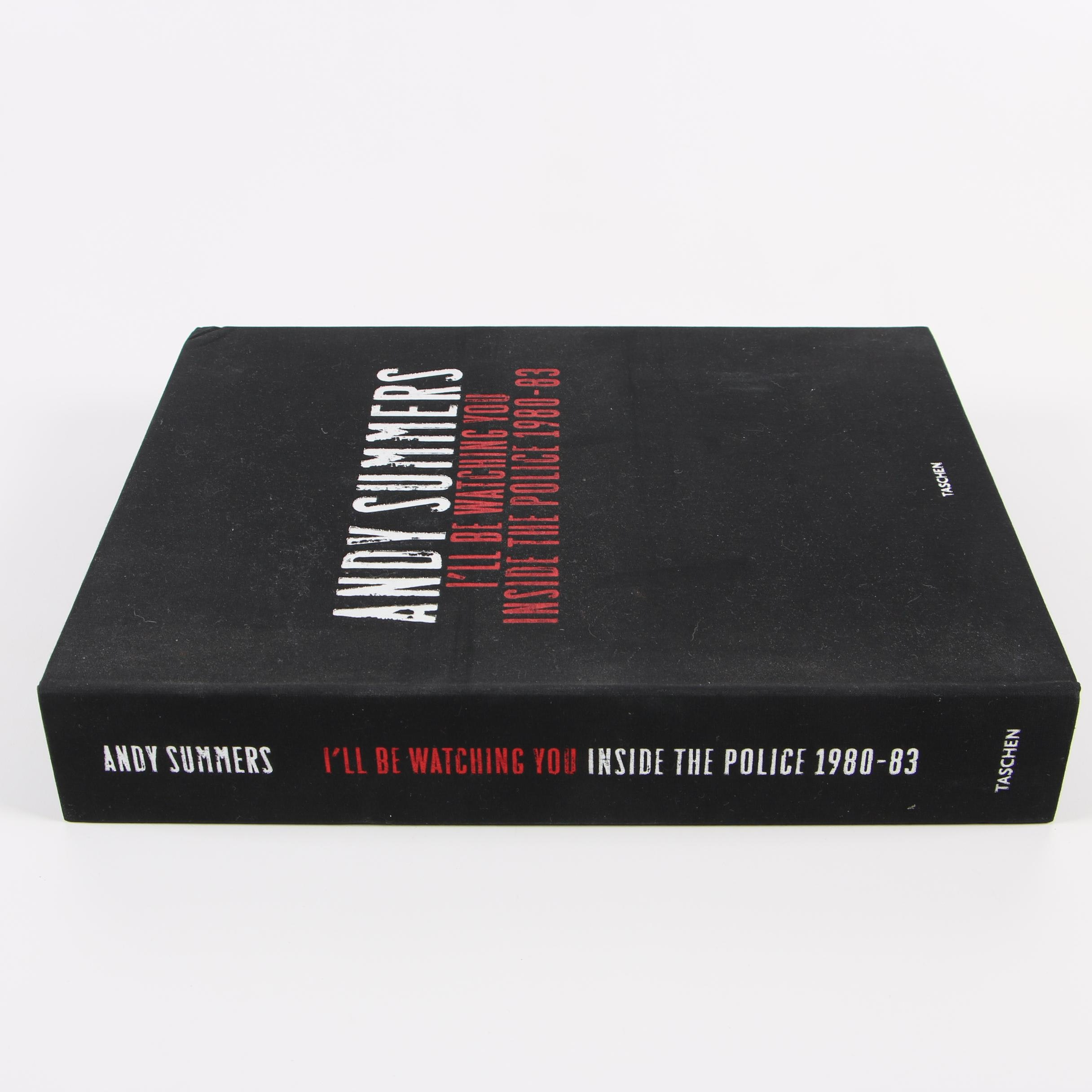 """2006 Signed Limited Edition """"I'll Be Watching You"""" by Andy Summers"""