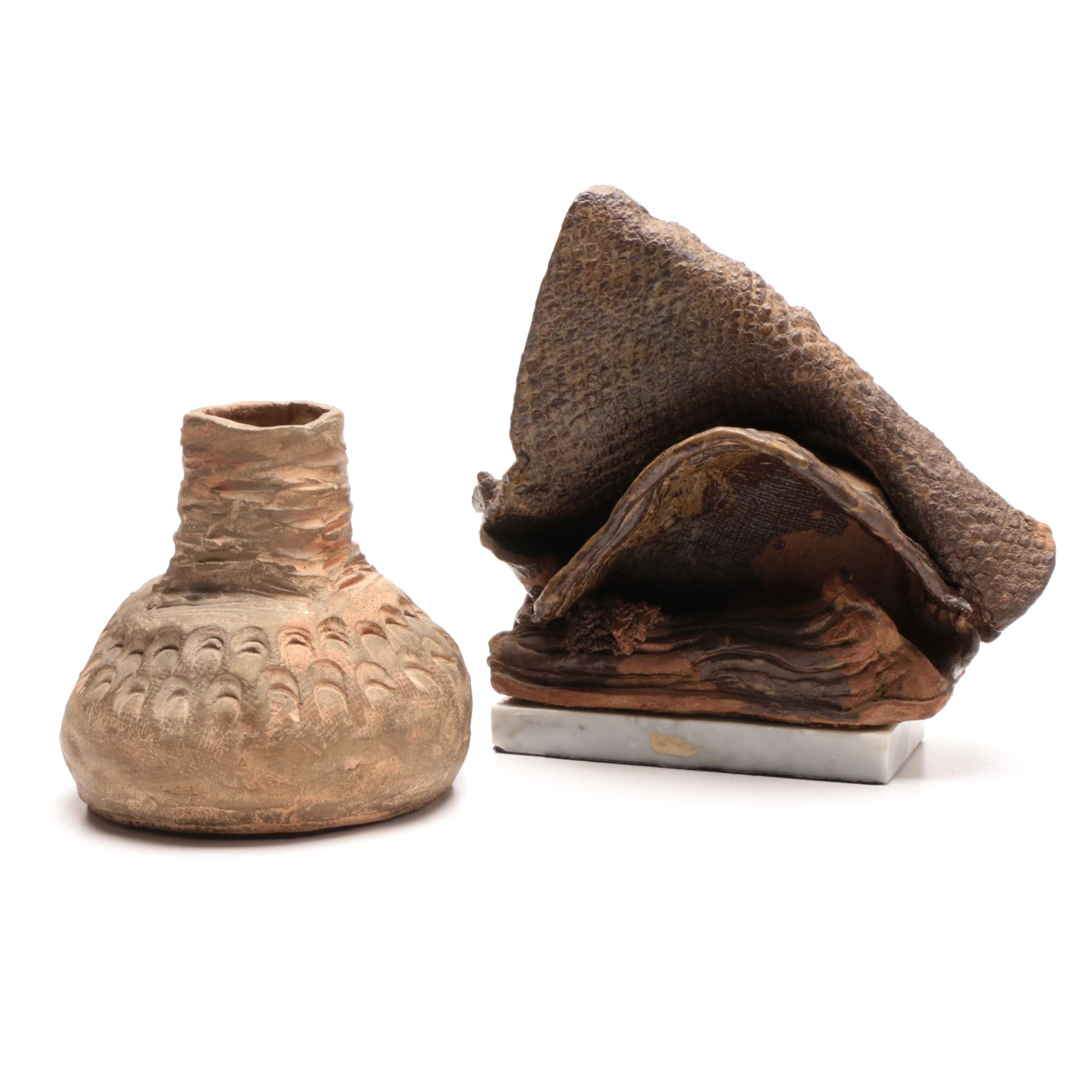 Two Art Pottery Pieces