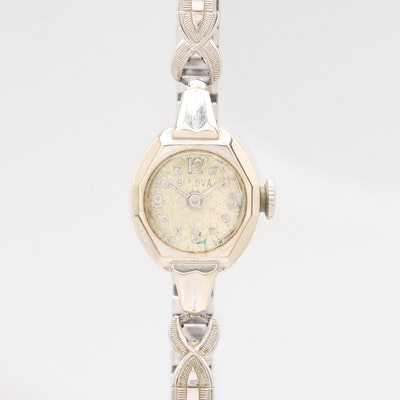 5e162ff19266 Kate Spade Gold Tone Wristwatch With Glass Crystal Accents   EBTH