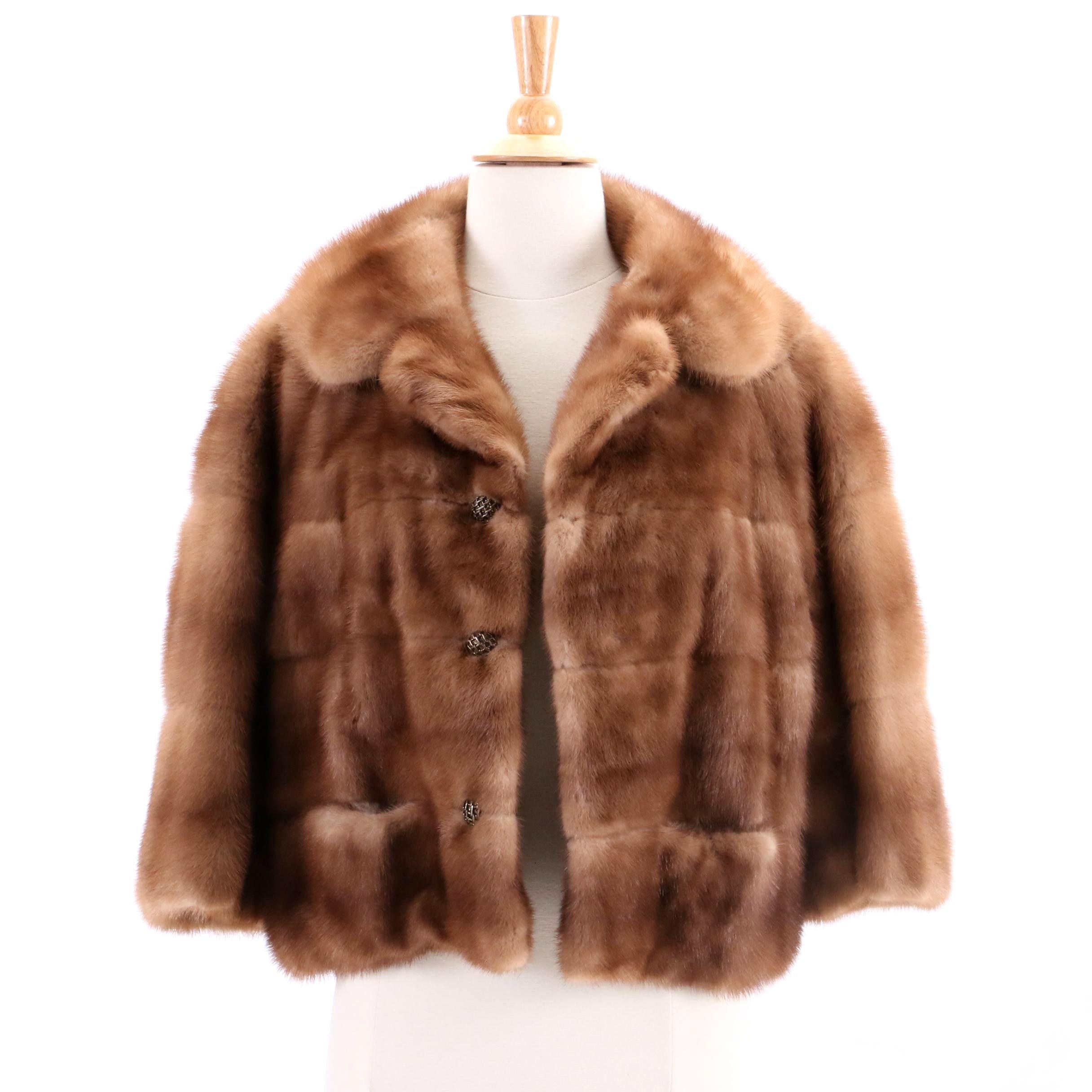 Vintage Heimann's Mink Fur Coat