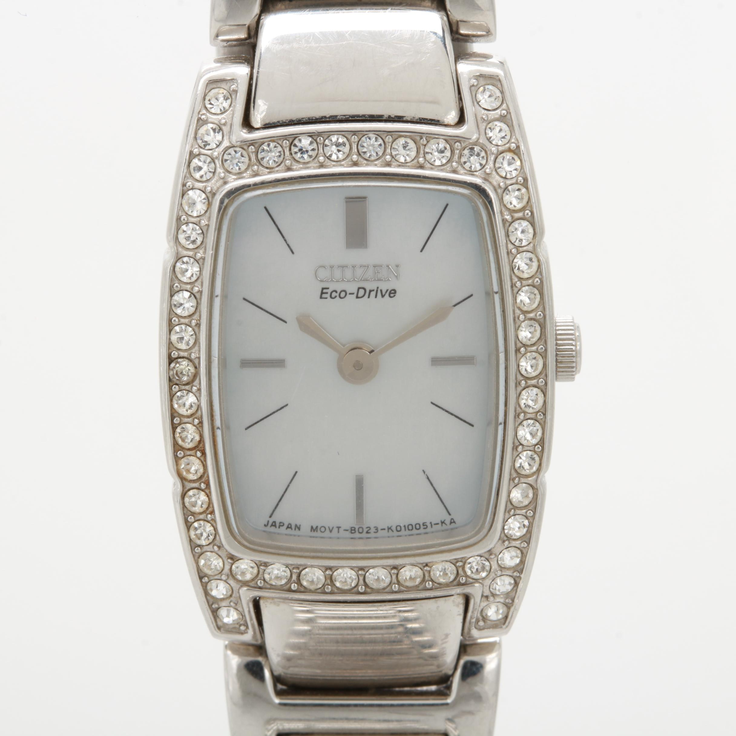 Citizen Eco-Drive with Mother of Pearl Dial Watch
